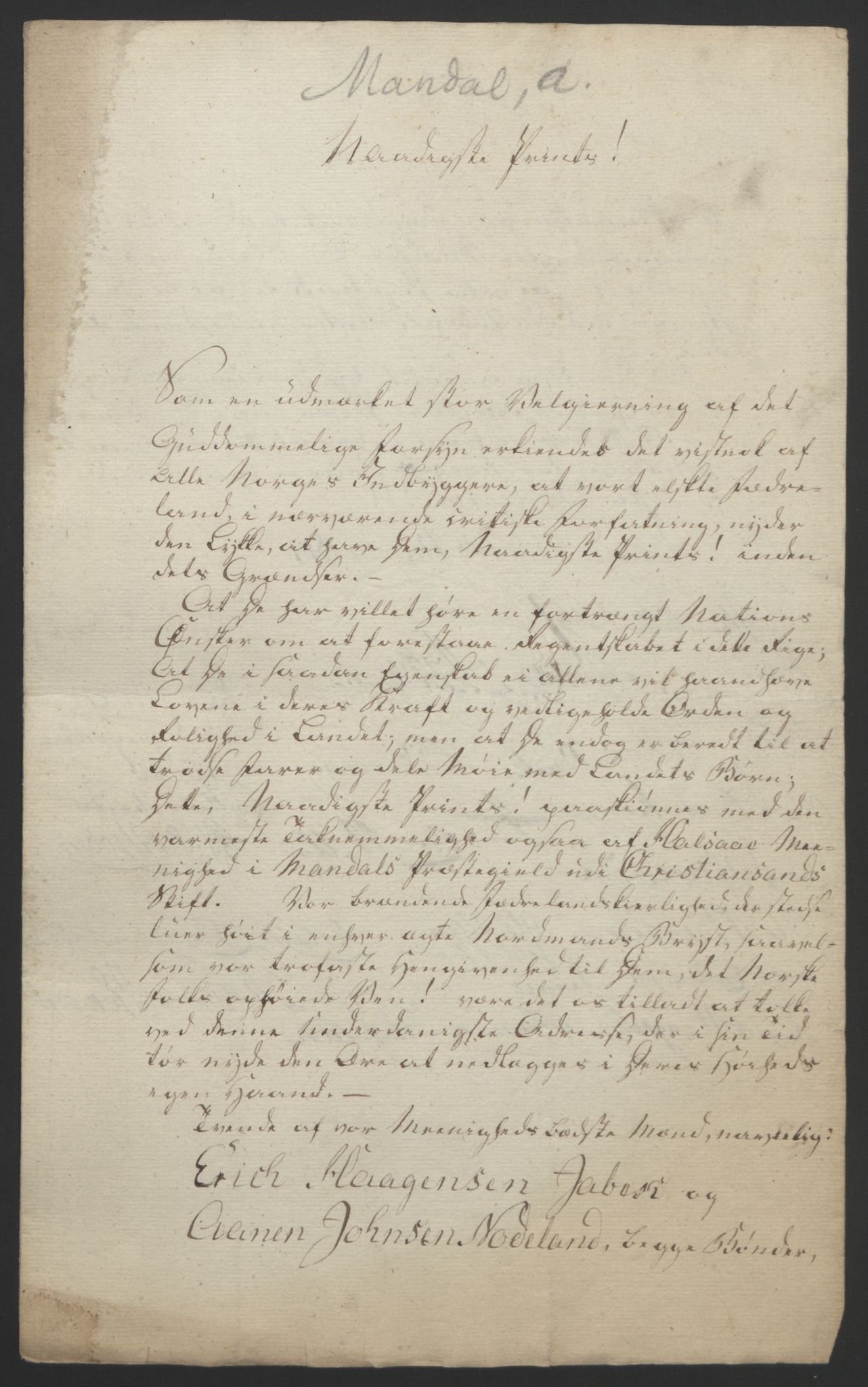 RA, Statsrådssekretariatet, D/Db/L0008: Fullmakter for Eidsvollsrepresentantene i 1814. , 1814, s. 128