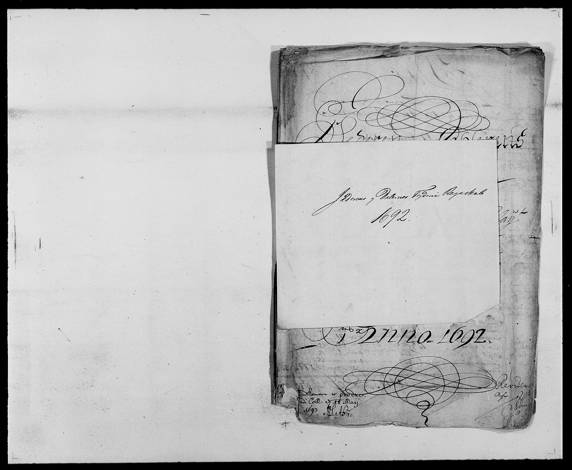 RA, Rentekammeret inntil 1814, Reviderte regnskaper, Fogderegnskap, R46/L2727: Fogderegnskap Jæren og Dalane, 1690-1693, s. 167