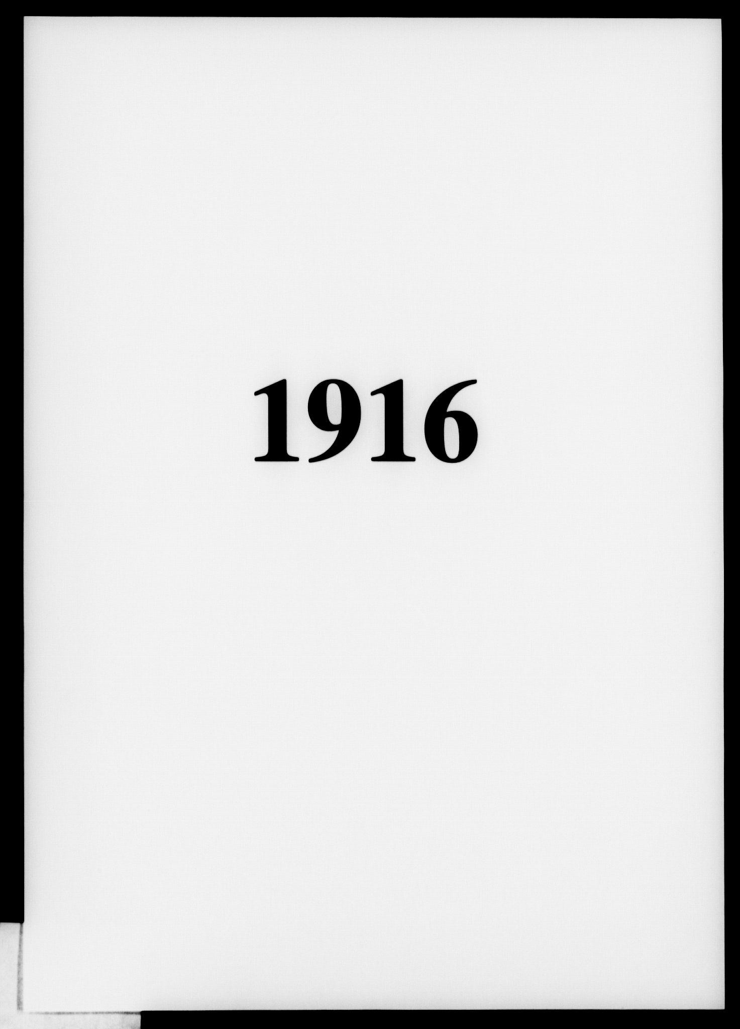 OBA, Fattigvesenet, Fb/L0035: Hjemstavnsregister, 1916, s. 1