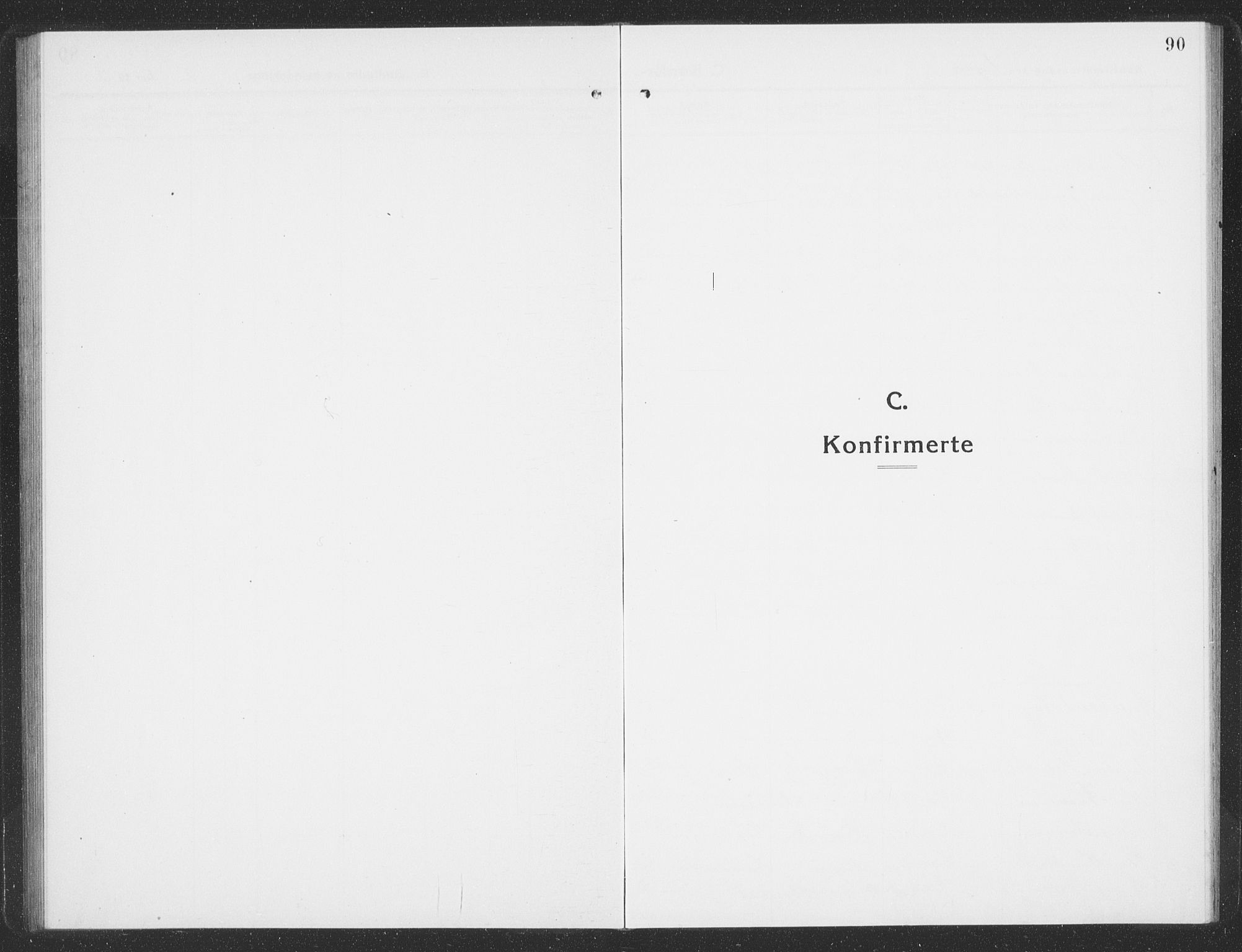 SAT, Ministerialprotokoller, klokkerbøker og fødselsregistre - Sør-Trøndelag, 688/L1030: Klokkerbok nr. 688C05, 1916-1939, s. 90