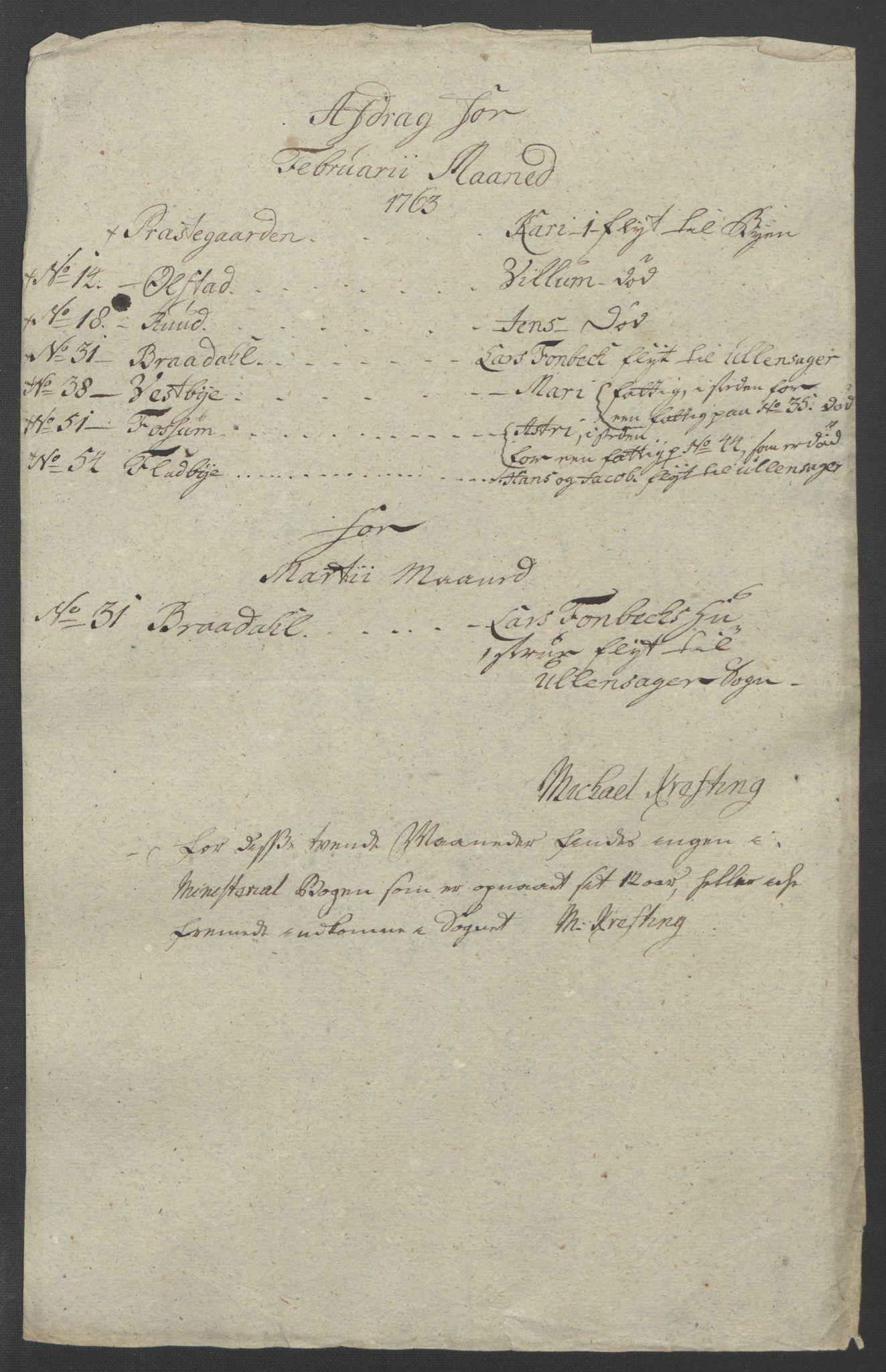 RA, Rentekammeret inntil 1814, Reviderte regnskaper, Fogderegnskap, R12/L0802: Ekstraskatten Øvre Romerike, 1762, s. 342