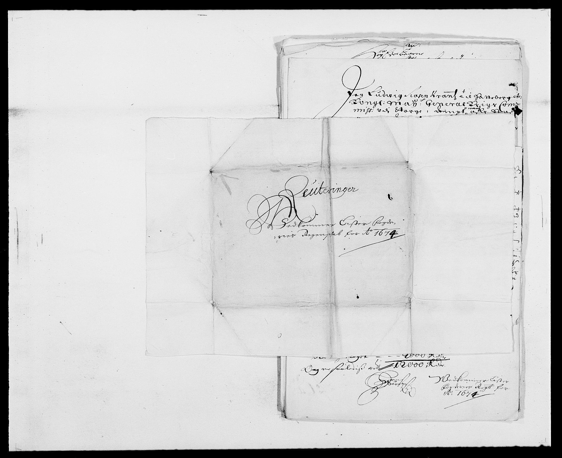 RA, Rentekammeret inntil 1814, Reviderte regnskaper, Fogderegnskap, R41/L2528: Fogderegnskap Lista, 1673-1674, s. 283
