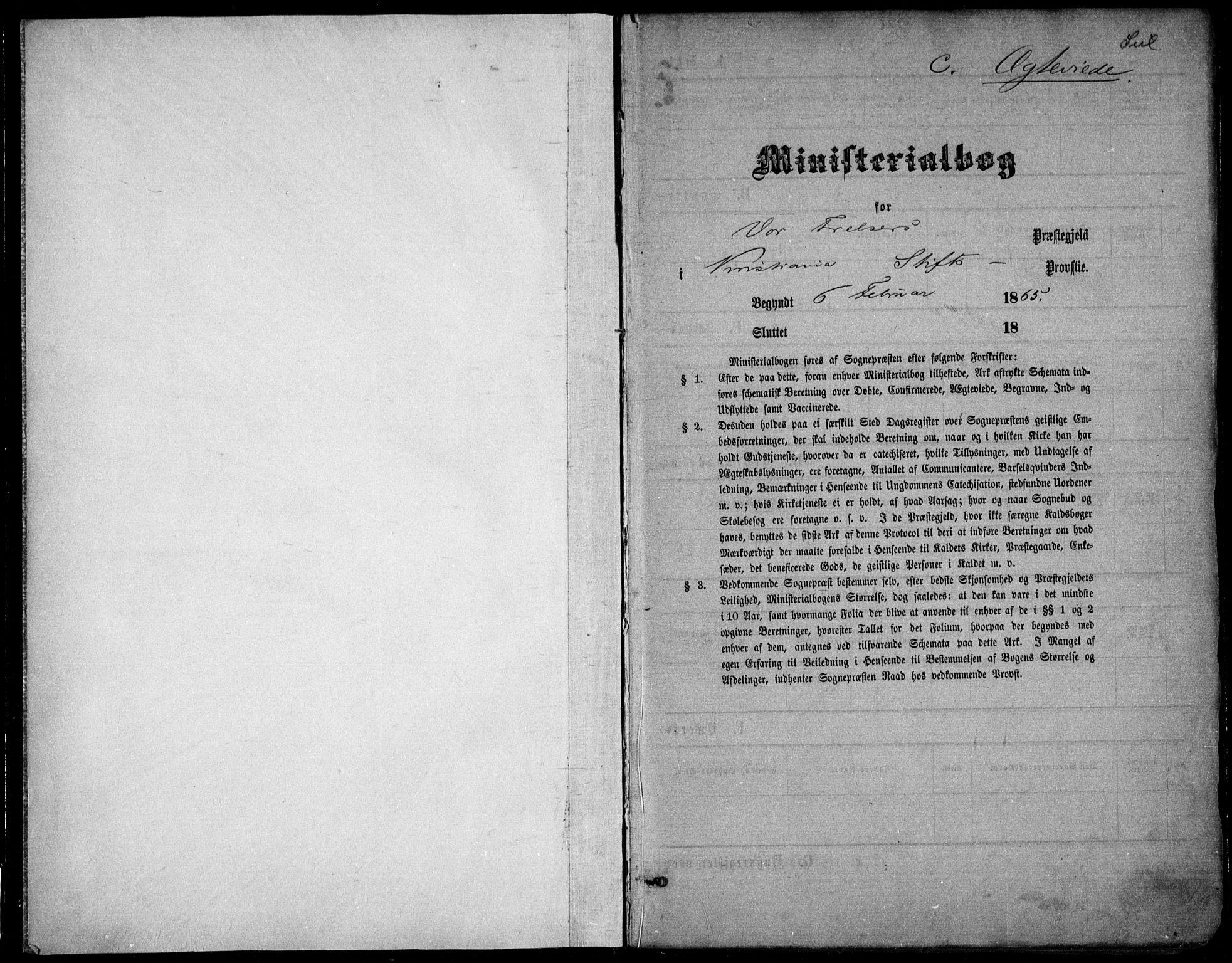 SAO, Oslo domkirke Kirkebøker, F/Fa/L0021: Ministerialbok nr. 21, 1865-1884