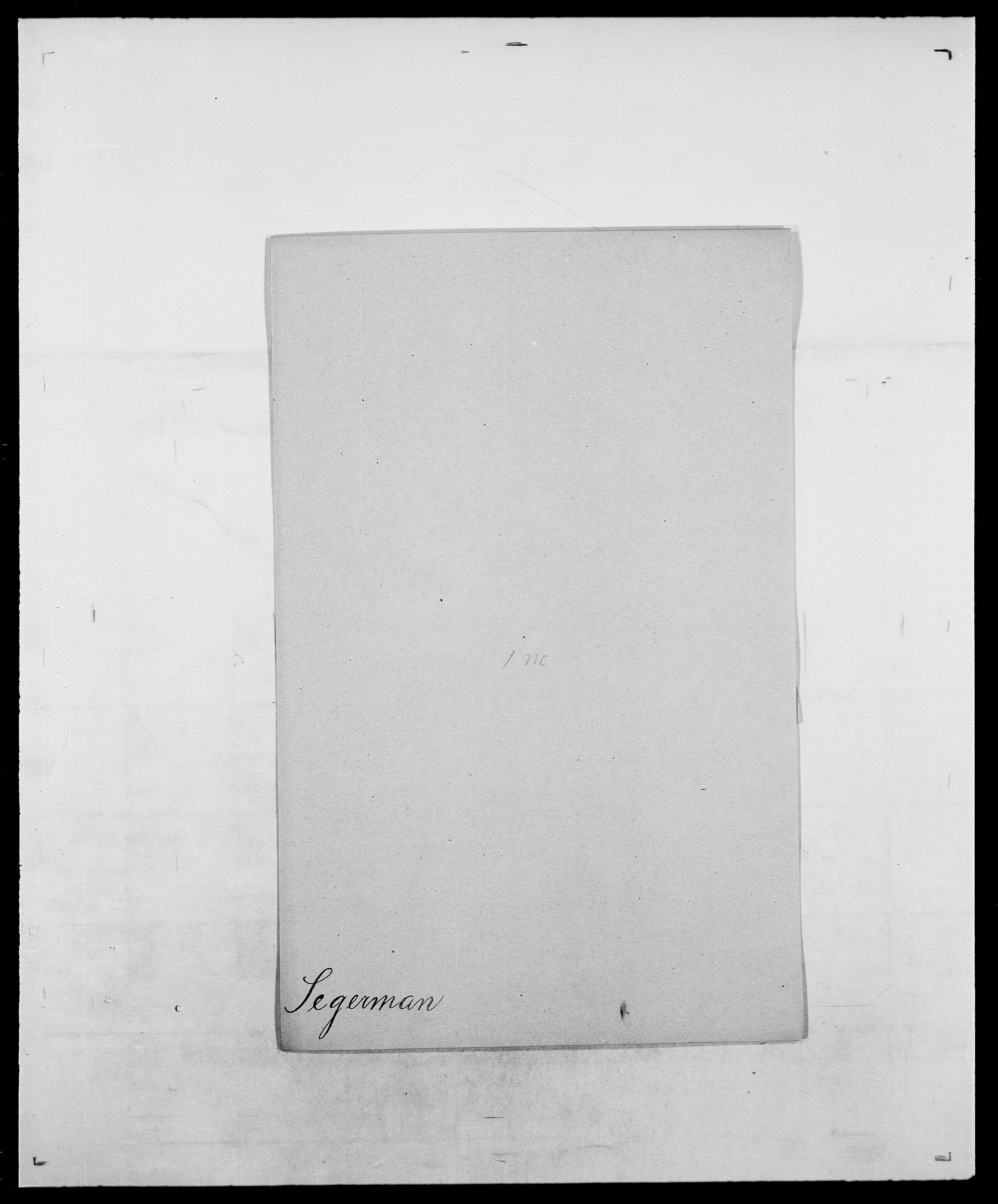 SAO, Delgobe, Charles Antoine - samling, D/Da/L0035: Schnabel - sjetman, s. 591
