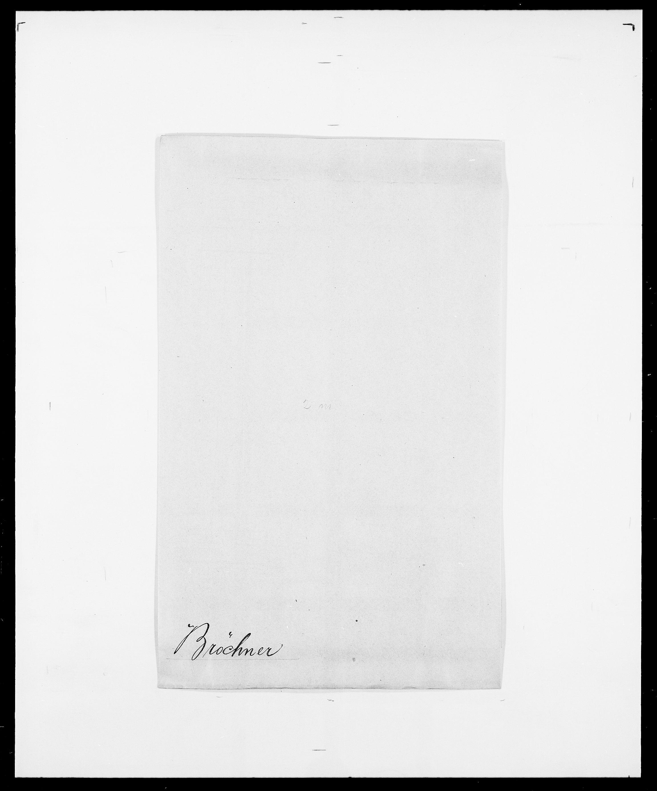 SAO, Delgobe, Charles Antoine - samling, D/Da/L0006: Brambani - Brønø, s. 934
