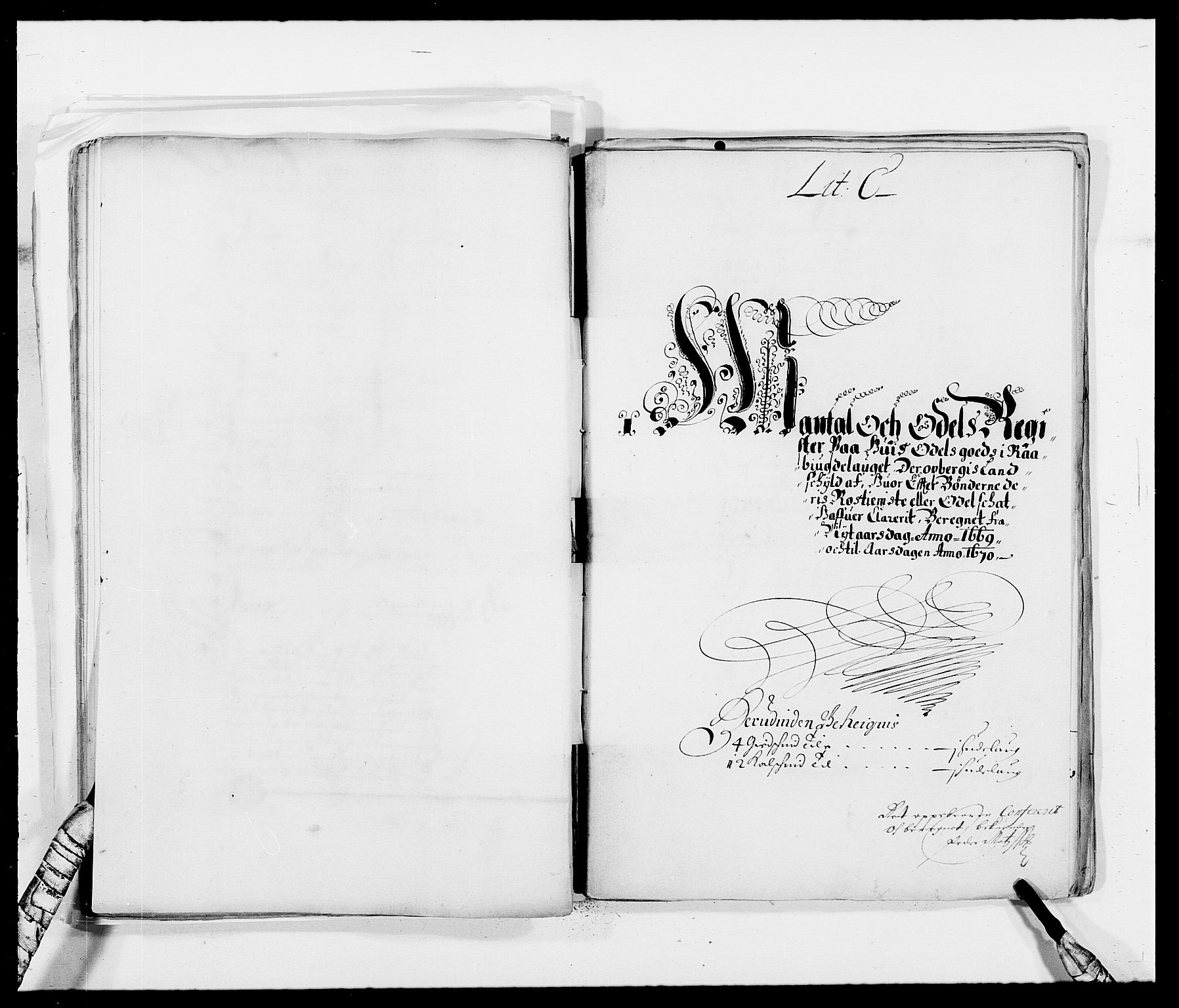 RA, Rentekammeret inntil 1814, Reviderte regnskaper, Fogderegnskap, R40/L2432: Fogderegnskap Råbyggelag, 1669-1670, s. 72