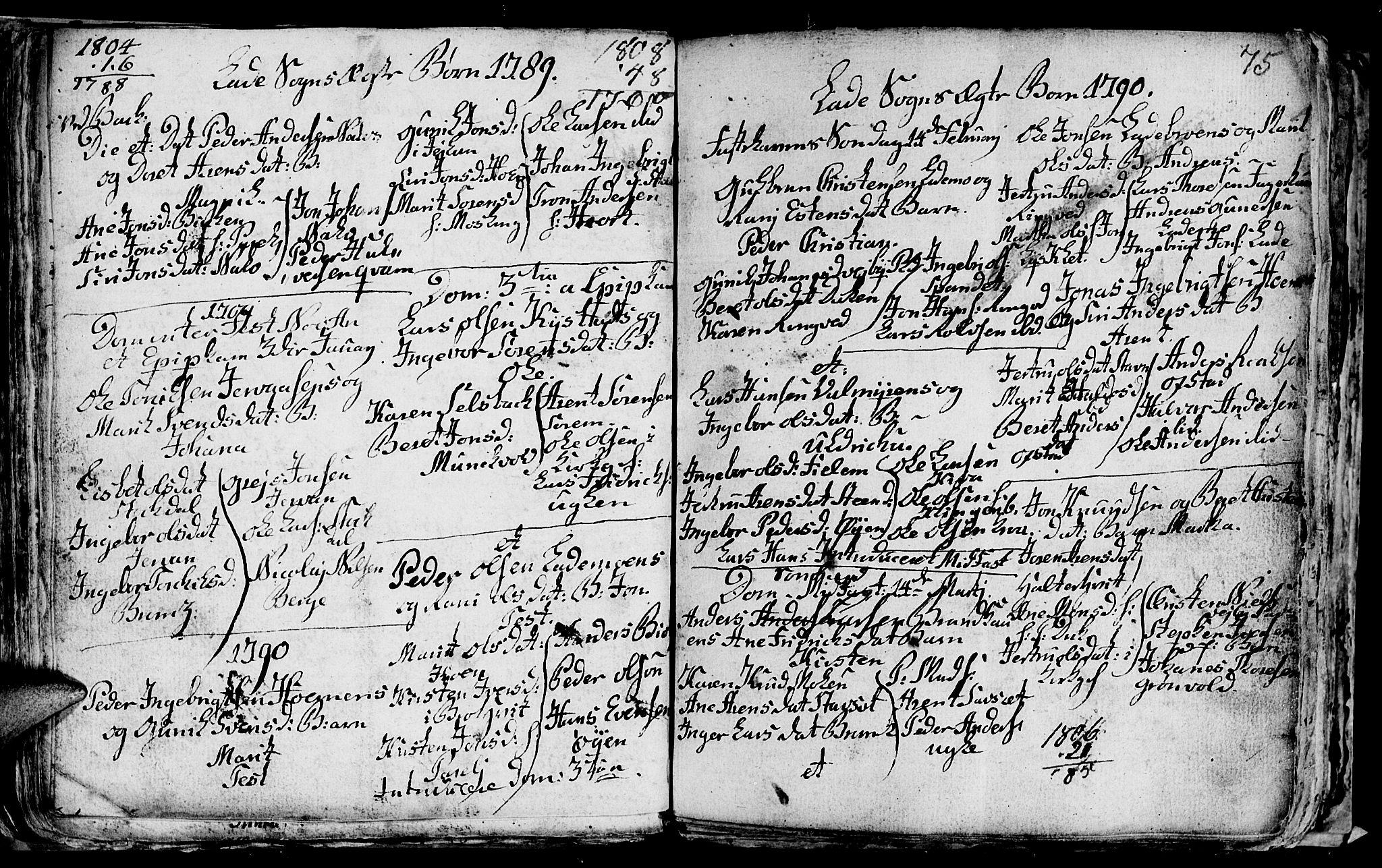 SAT, Ministerialprotokoller, klokkerbøker og fødselsregistre - Sør-Trøndelag, 606/L0305: Klokkerbok nr. 606C01, 1757-1819, s. 75