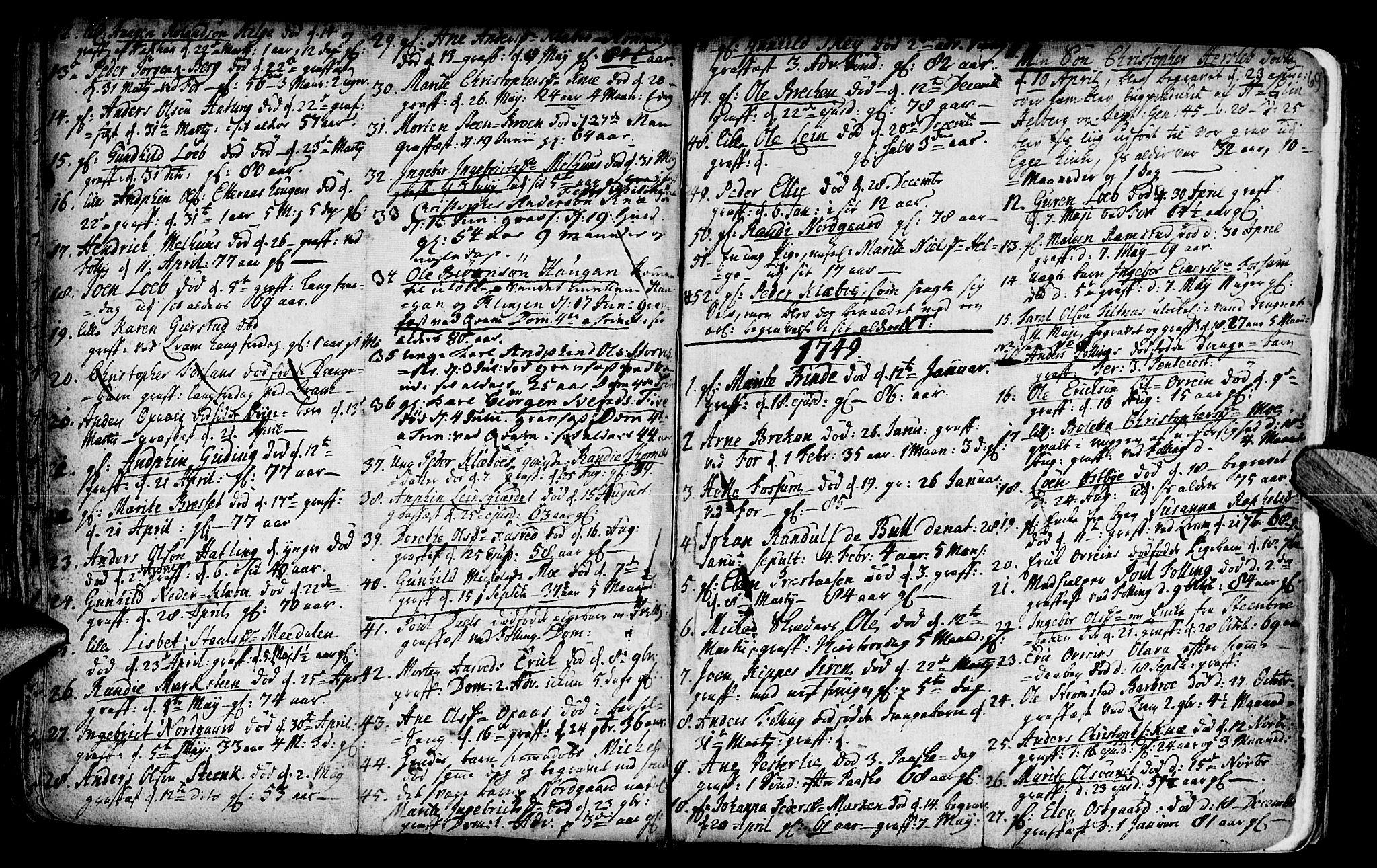 SAT, Ministerialprotokoller, klokkerbøker og fødselsregistre - Nord-Trøndelag, 746/L0439: Ministerialbok nr. 746A01, 1688-1759, s. 69