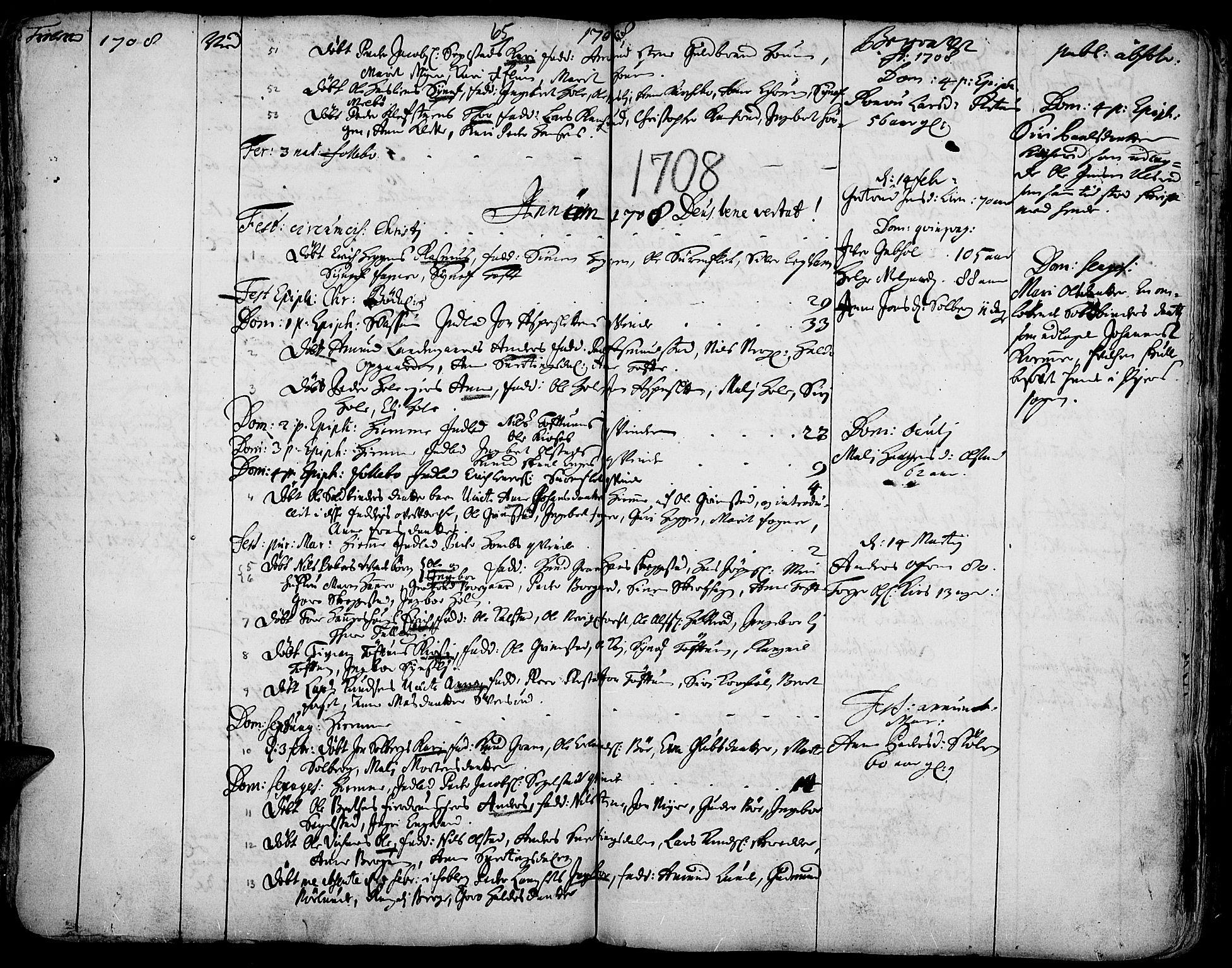 SAH, Gausdal prestekontor, Ministerialbok nr. 1, 1693-1728, s. 65