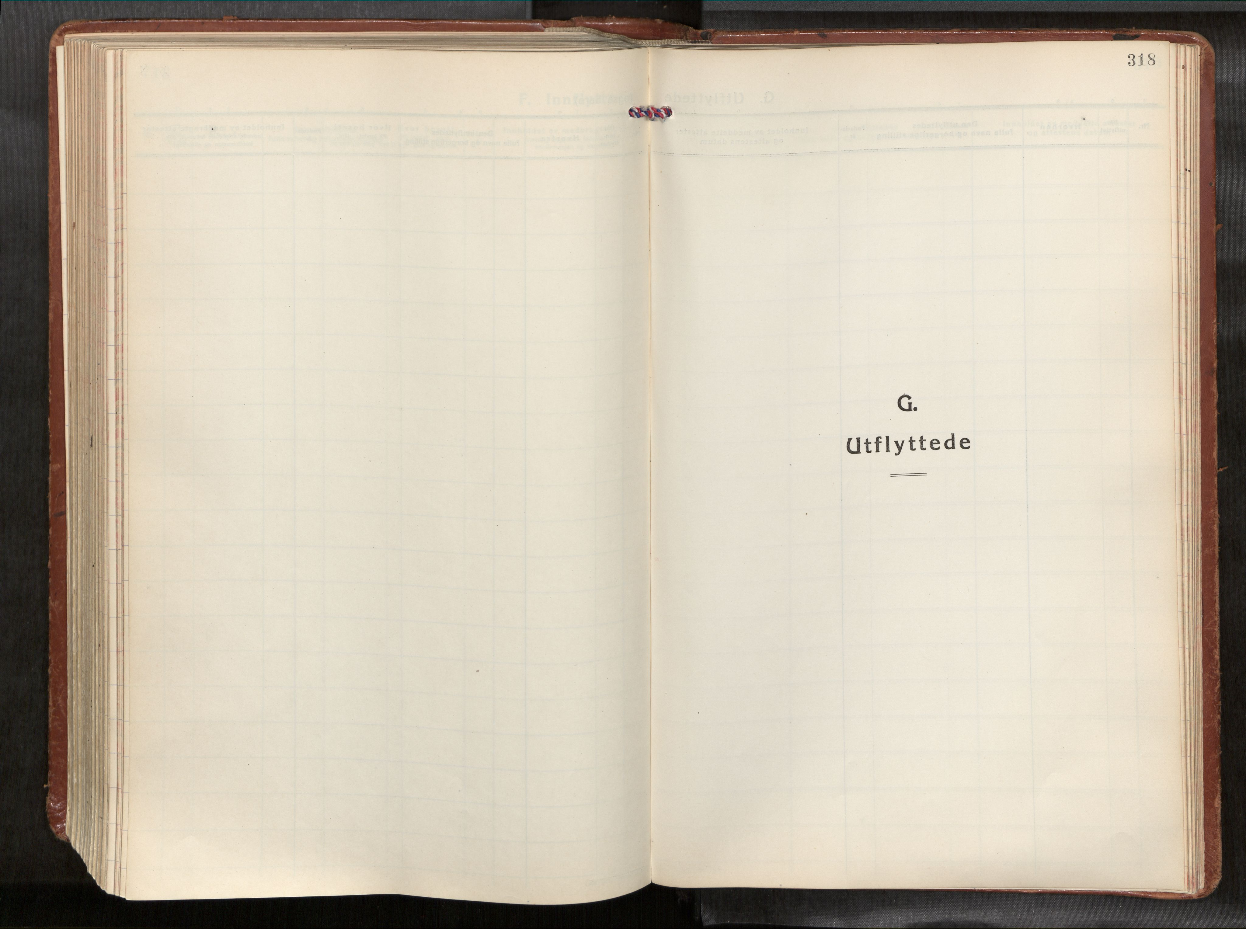 SAT, Ministerialprotokoller, klokkerbøker og fødselsregistre - Nordland, 881/L1161: Ministerialbok nr. 881A14, 1932-1955, s. 318
