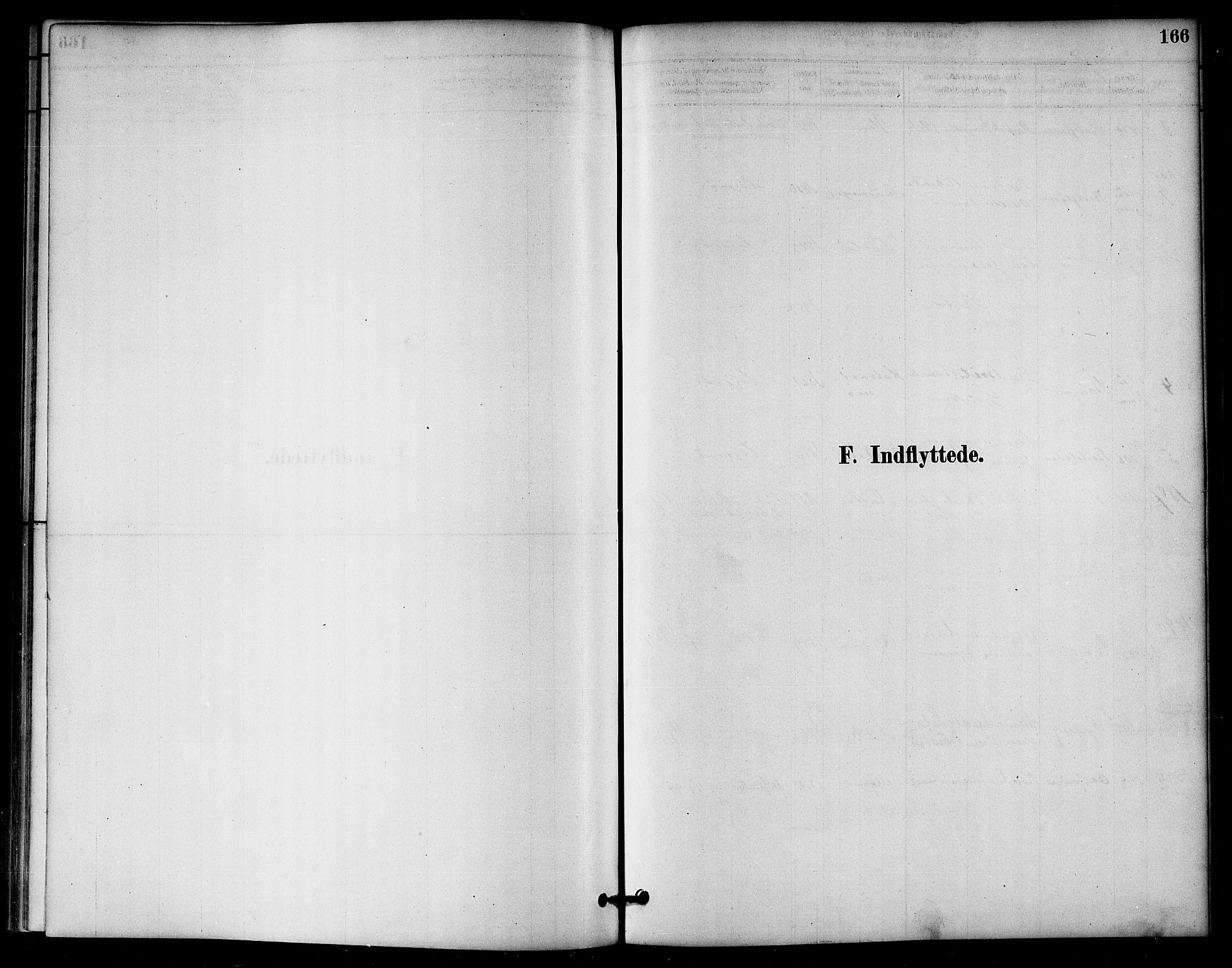SAT, Ministerialprotokoller, klokkerbøker og fødselsregistre - Nord-Trøndelag, 766/L0563: Ministerialbok nr. 767A01, 1881-1899, s. 166