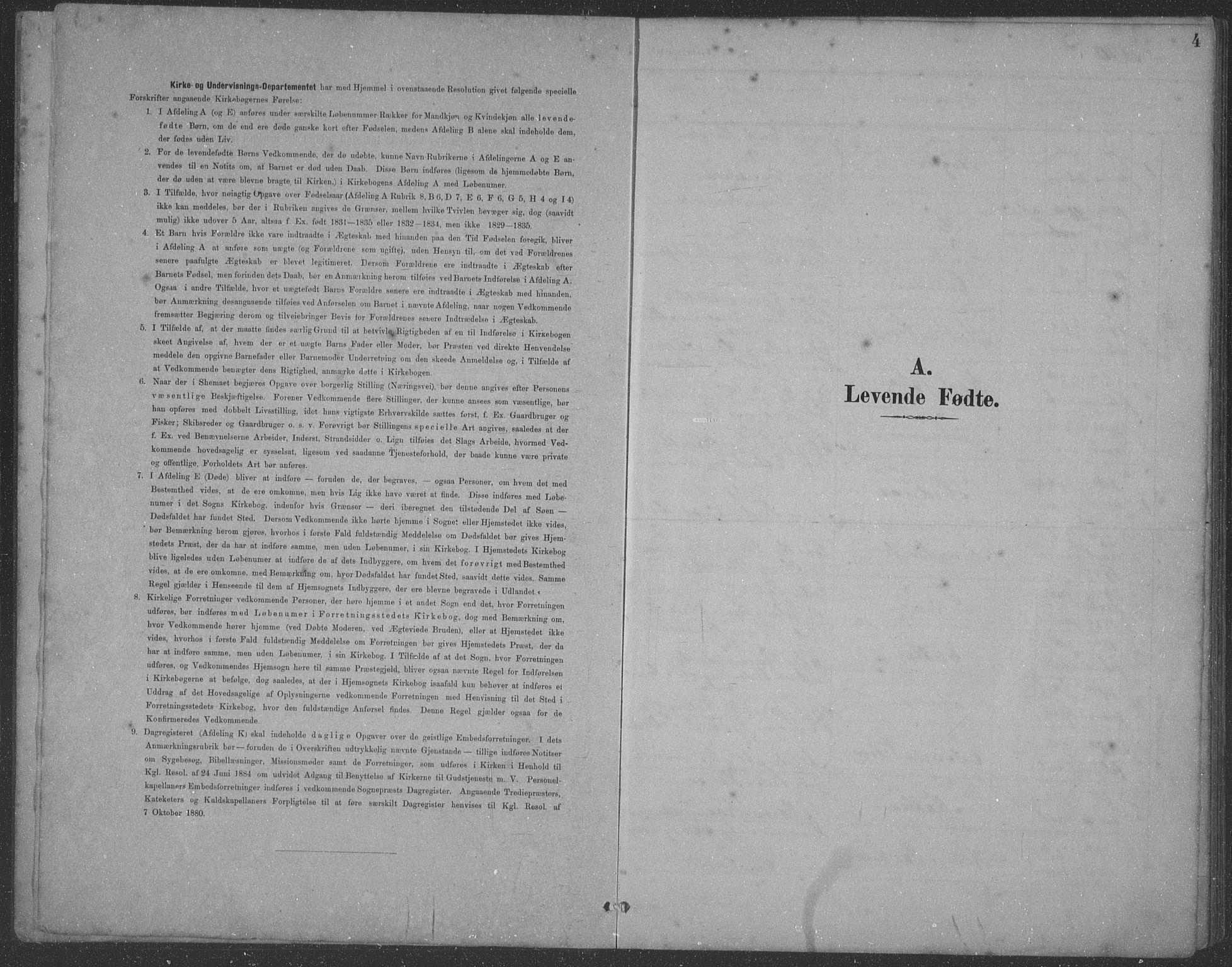 SAST, Egersund sokneprestkontor, Klokkerbok nr. B 21, 1890-1915, s. 4