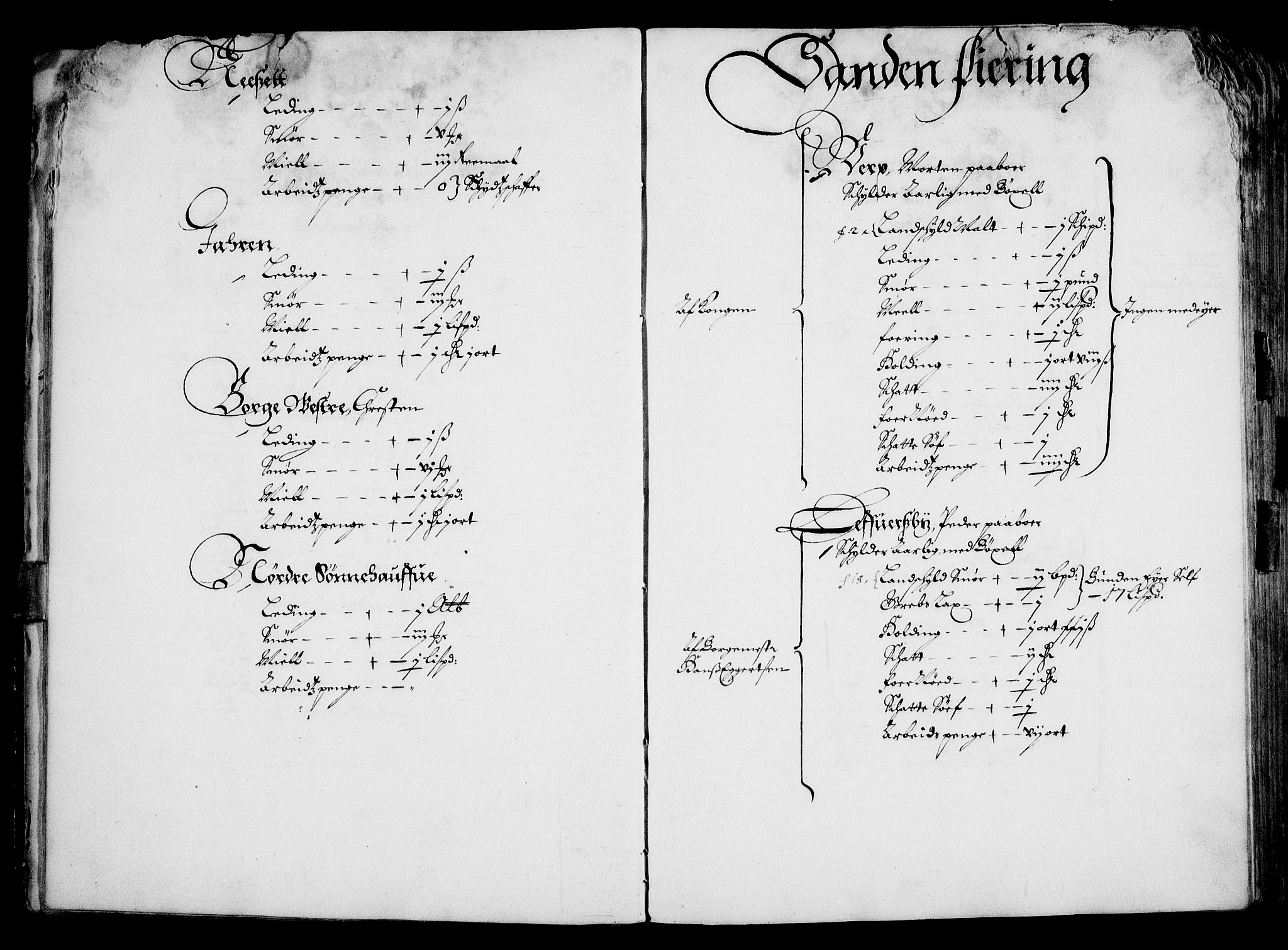 RA, Rentekammeret inntil 1814, Realistisk ordnet avdeling, On/L0001: Statens gods, 1651, s. 19