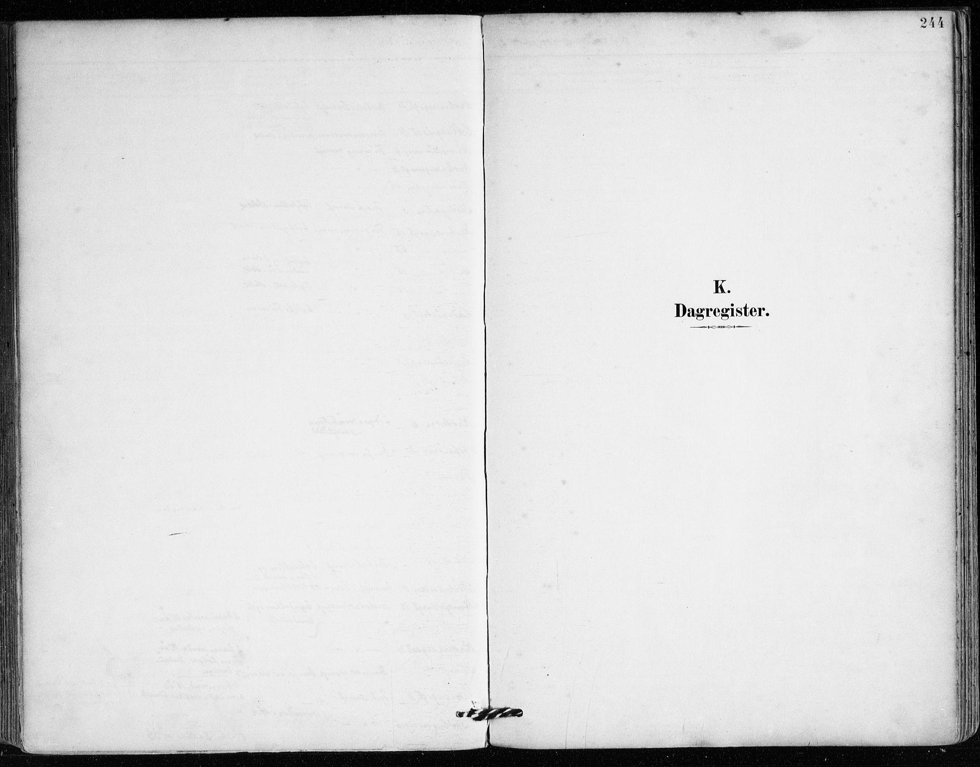SAB, Mariakirken Sokneprestembete, H/Haa/L0008: Ministerialbok nr. A 8, 1893-1942, s. 244