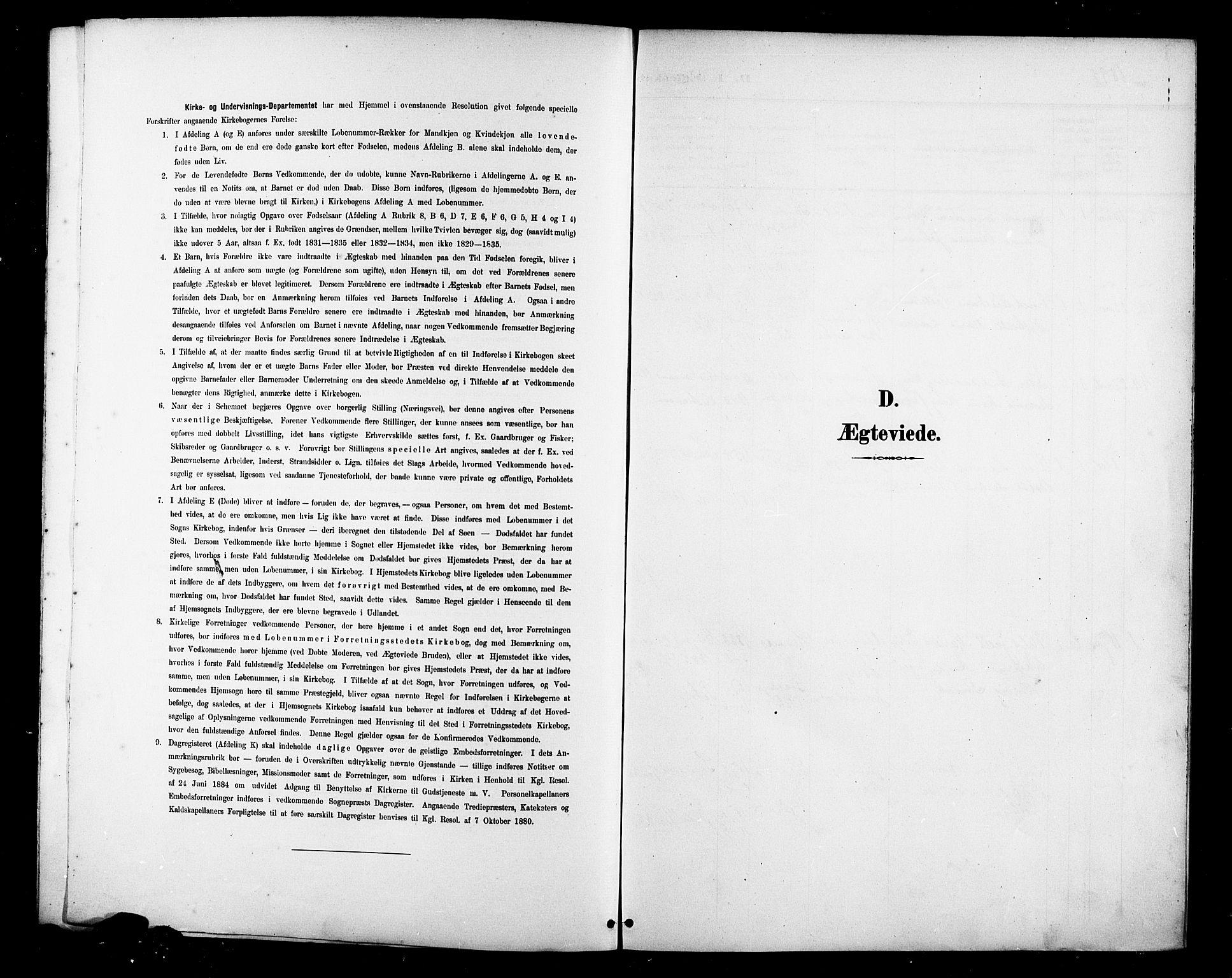 SAST, St. Petri sokneprestkontor, 30/30BB/L0007: Klokkerbok nr. B 7, 1895-1902