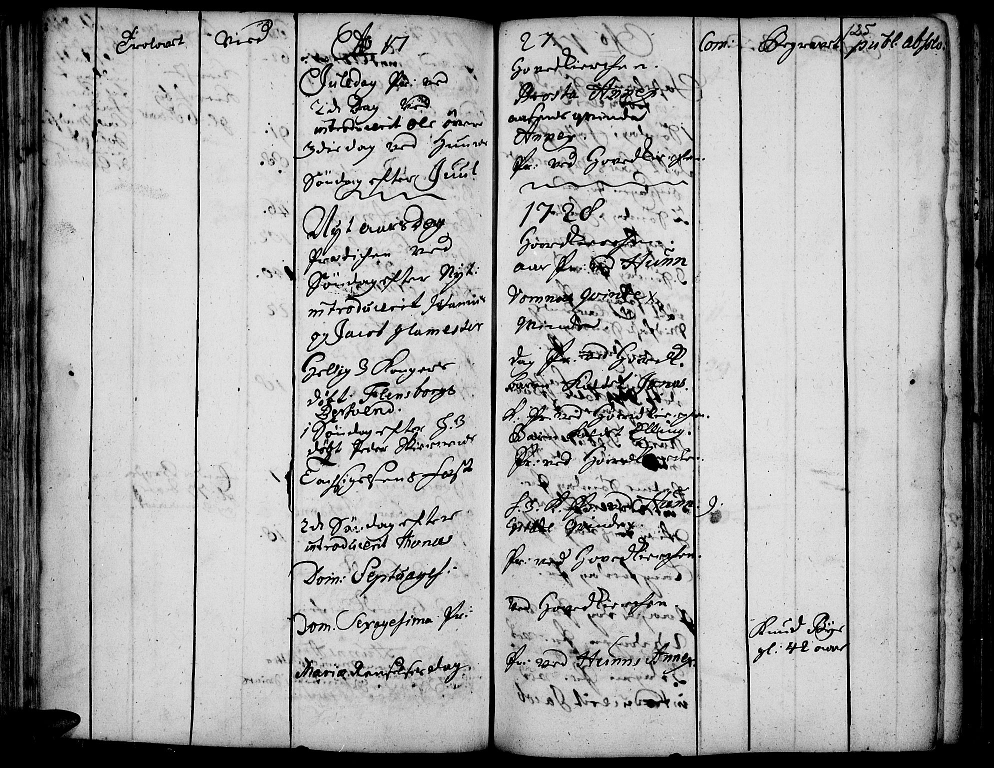 SAH, Vardal prestekontor, H/Ha/Haa/L0001: Ministerialbok nr. 1, 1706-1748, s. 125