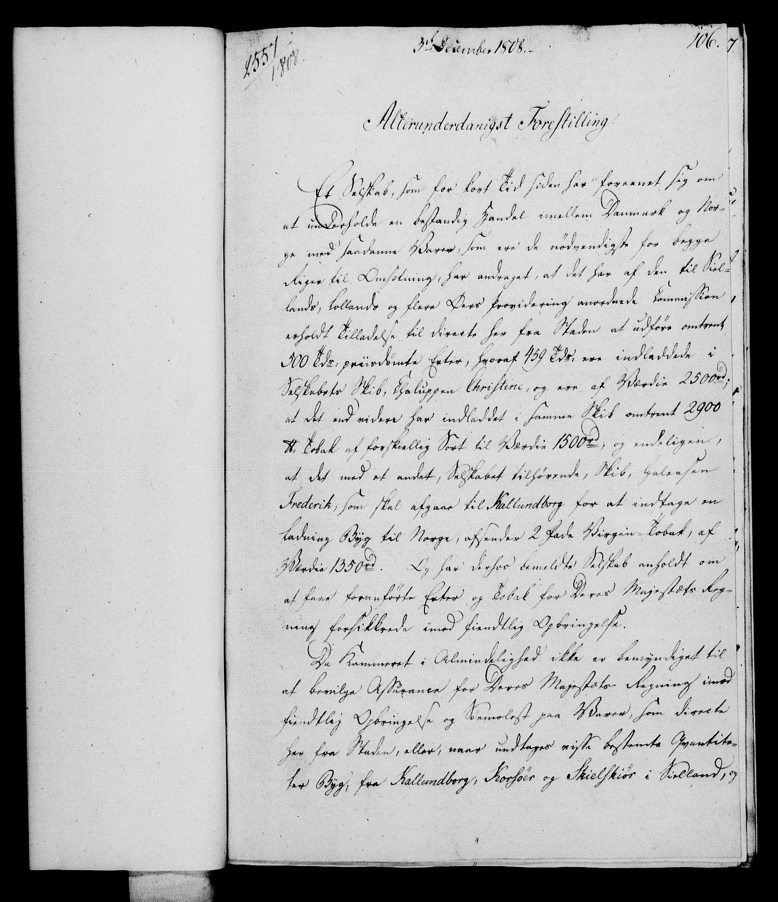 RA, Rentekammeret, Kammerkanselliet, G/Gf/Gfa/L0090: Norsk relasjons- og resolusjonsprotokoll (merket RK 52.90), 1808, s. 517