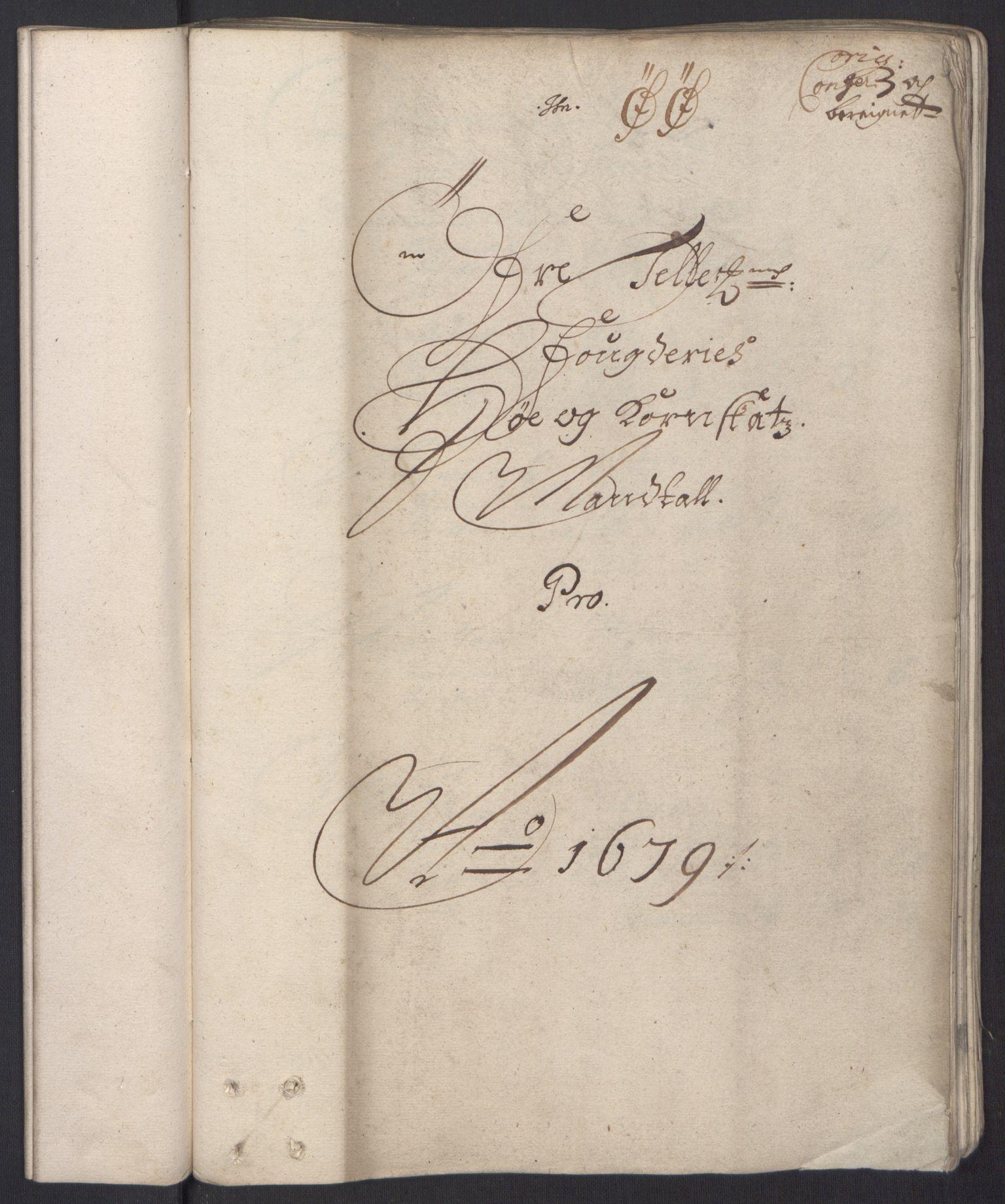 RA, Rentekammeret inntil 1814, Reviderte regnskaper, Fogderegnskap, R35/L2074: Fogderegnskap Øvre og Nedre Telemark, 1679, s. 82