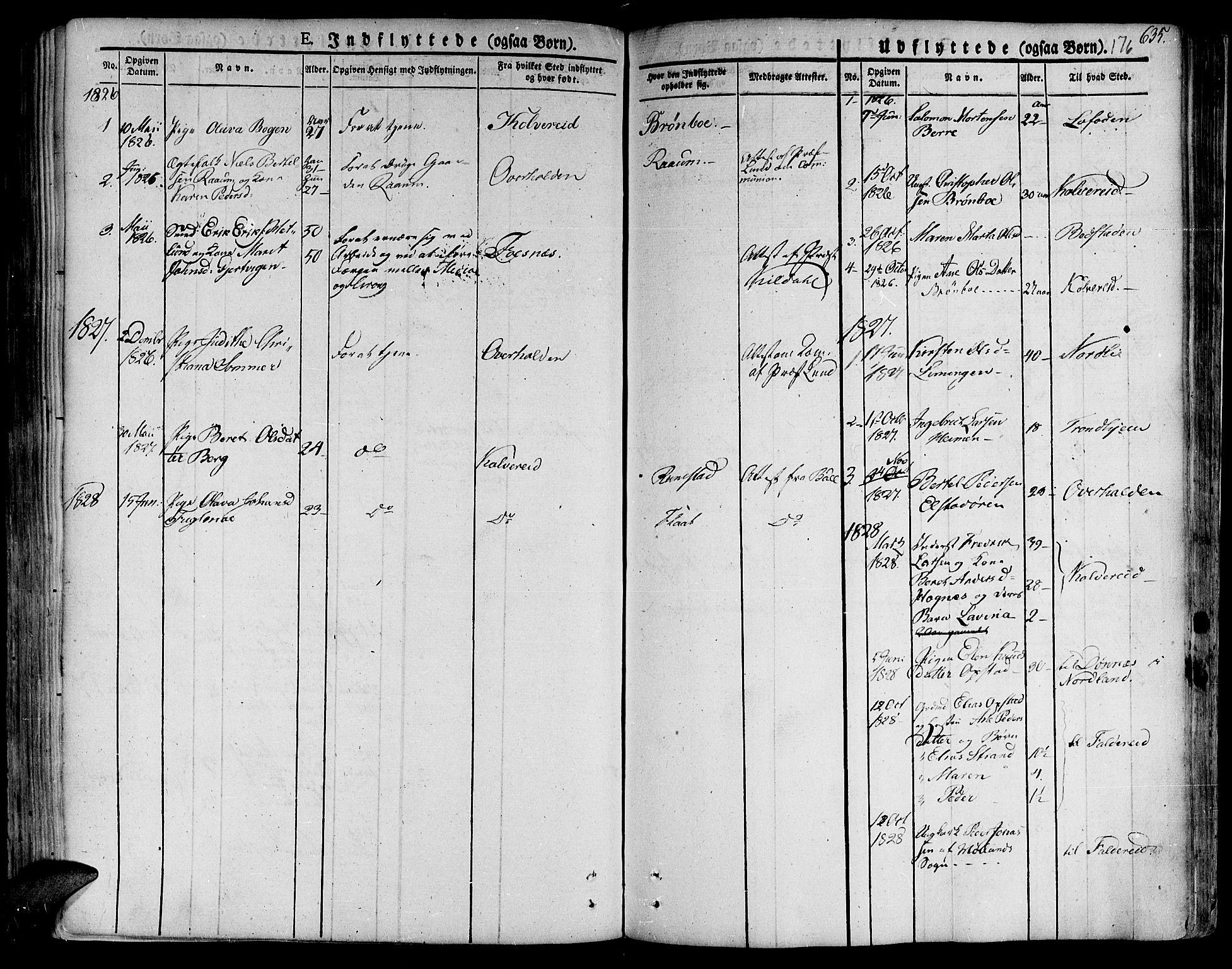 SAT, Ministerialprotokoller, klokkerbøker og fødselsregistre - Nord-Trøndelag, 758/L0510: Ministerialbok nr. 758A01 /1, 1821-1841, s. 176