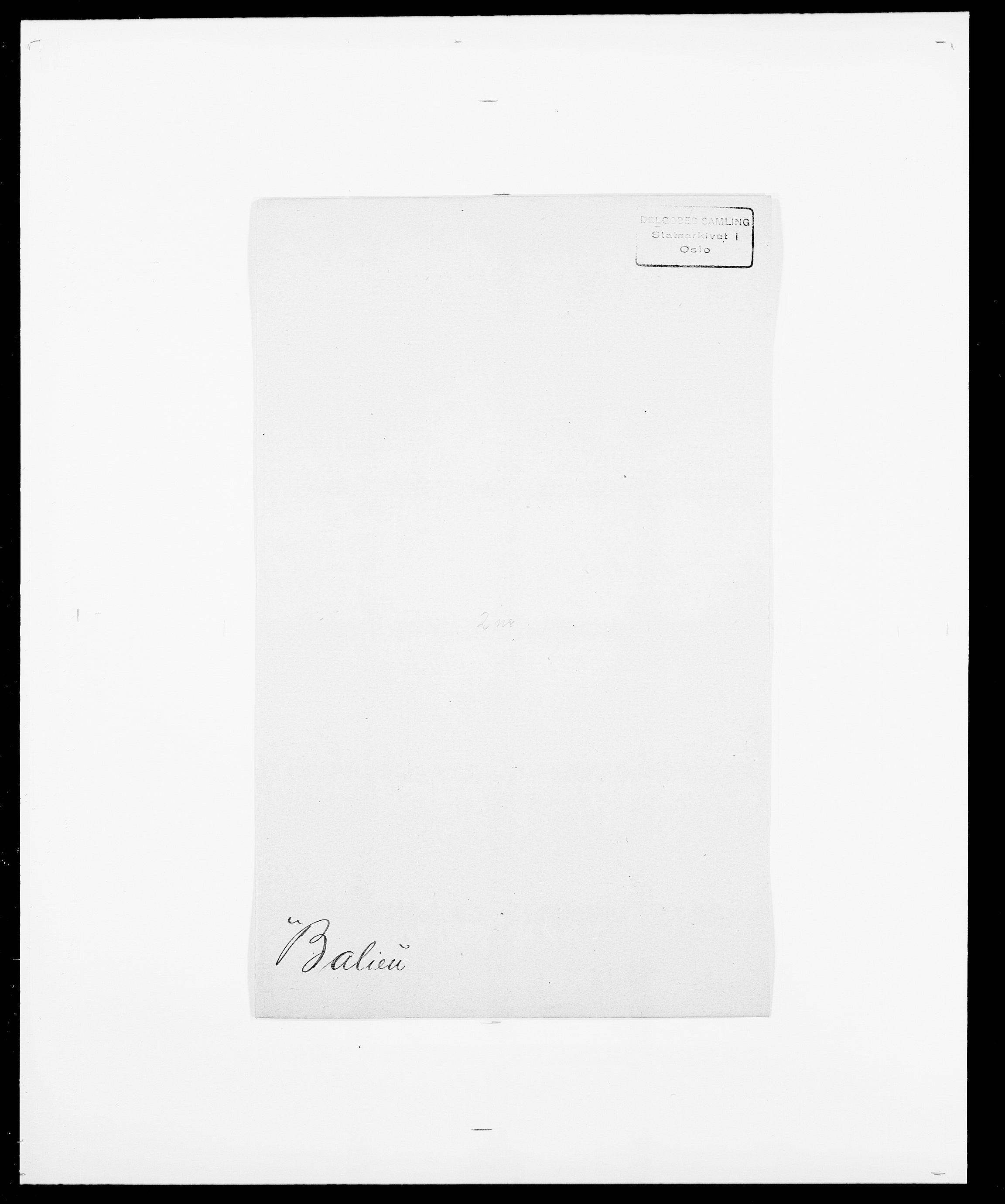 SAO, Delgobe, Charles Antoine - samling, D/Da/L0003: Barca - Bergen, s. 170