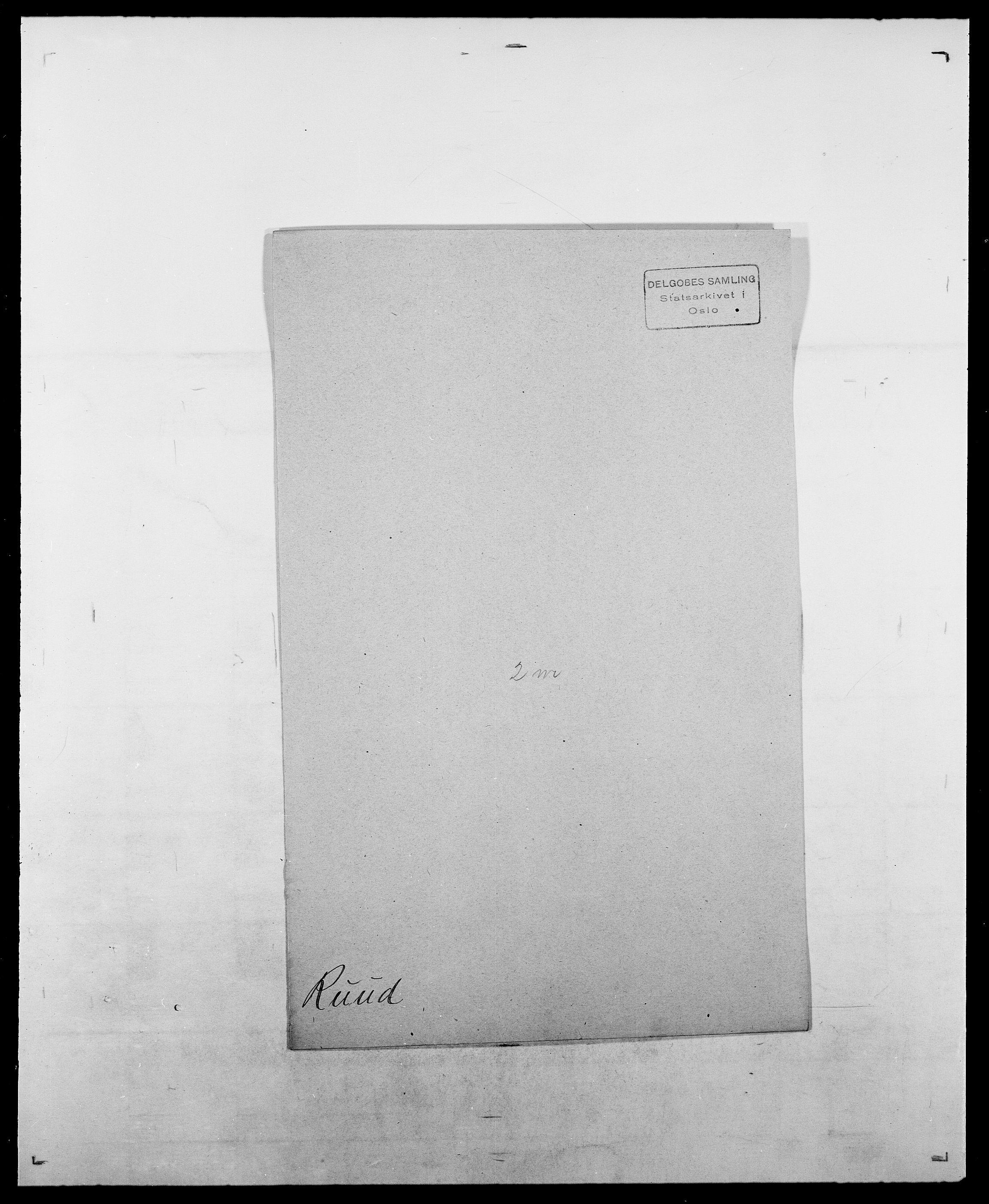 SAO, Delgobe, Charles Antoine - samling, D/Da/L0033: Roald - Røyem, s. 502