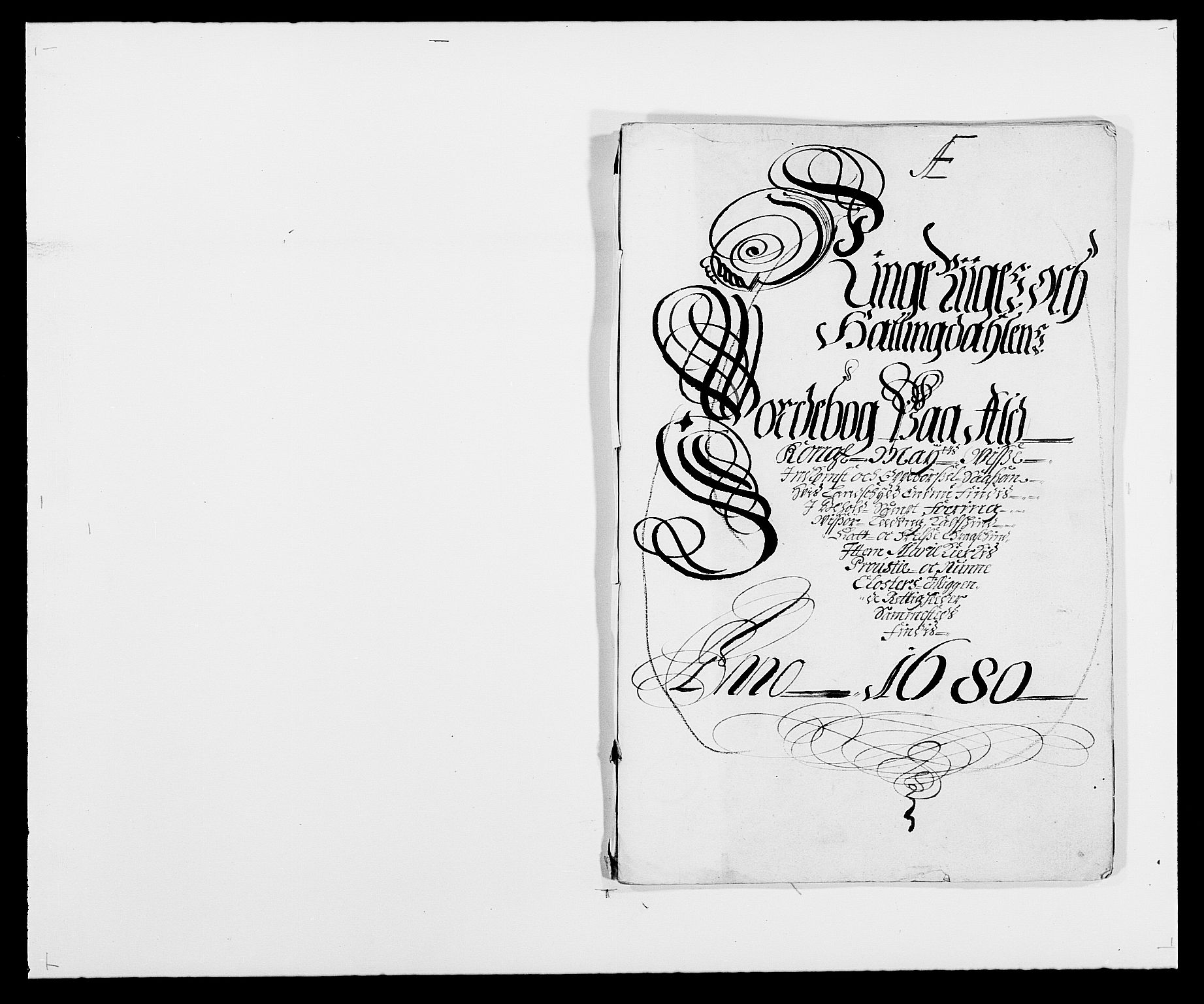 RA, Rentekammeret inntil 1814, Reviderte regnskaper, Fogderegnskap, R21/L1444: Fogderegnskap Ringerike og Hallingdal, 1680-1681, s. 11