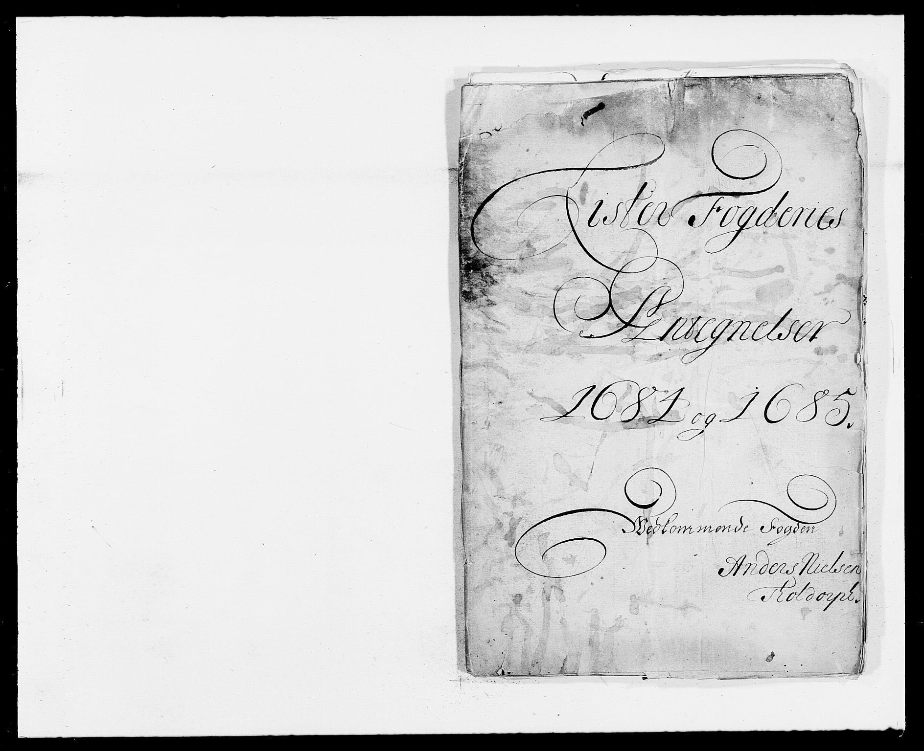 RA, Rentekammeret inntil 1814, Reviderte regnskaper, Fogderegnskap, R41/L2533: Fogderegnskap Lista, 1684-1685, s. 228