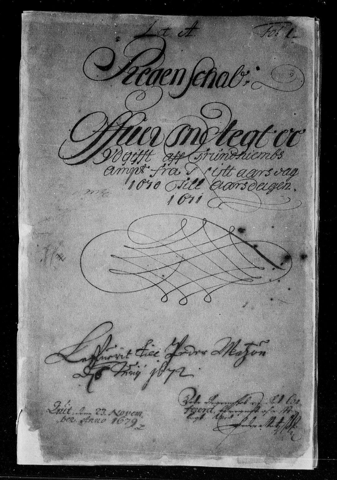 RA, Rentekammeret inntil 1814, Reviderte regnskaper, Stiftamtstueregnskaper, Trondheim stiftamt og Nordland amt, R/Rd/L0029: Trondheim stiftamt, 1670