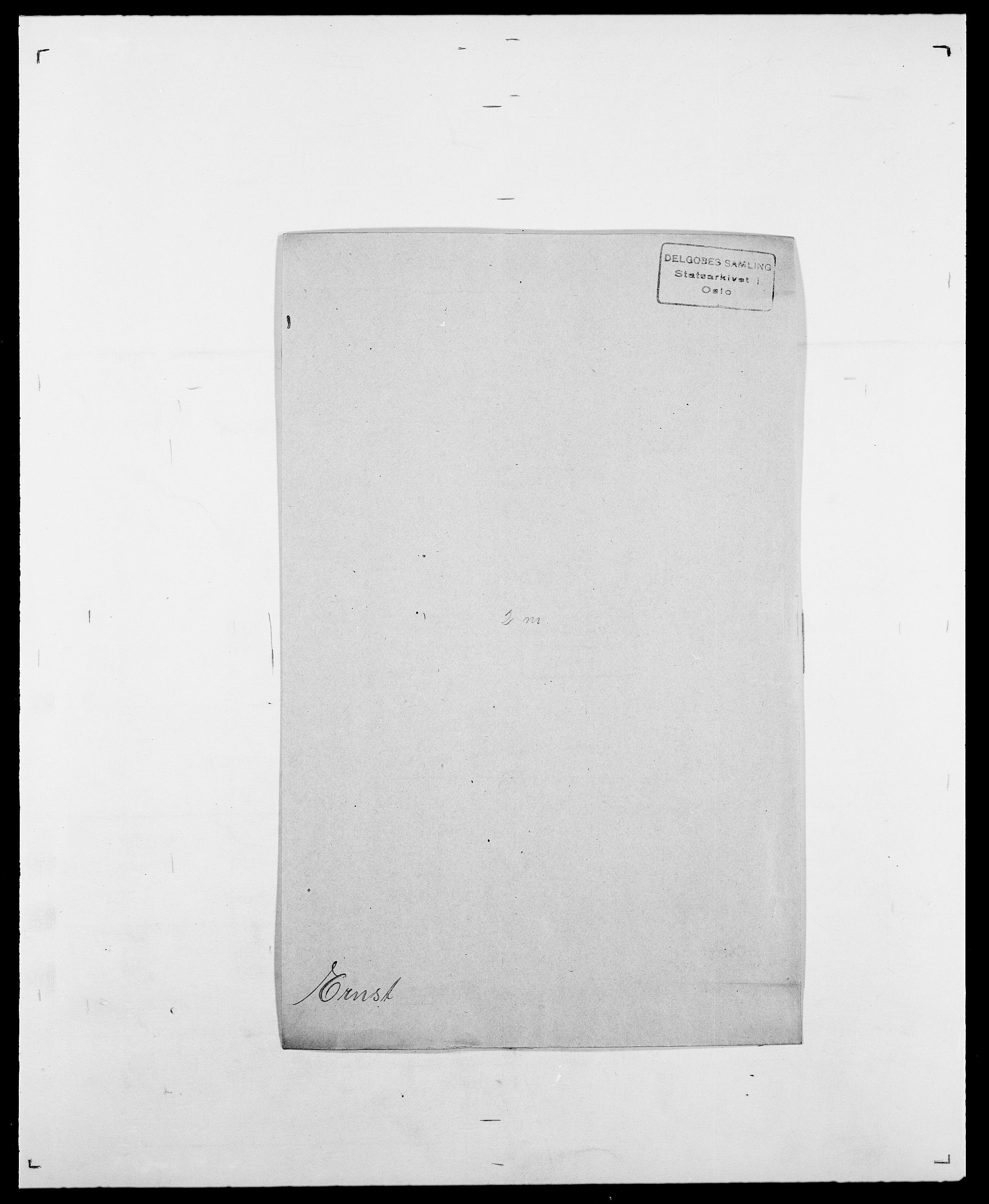 SAO, Delgobe, Charles Antoine - samling, D/Da/L0010: Dürendahl - Fagelund, s. 610