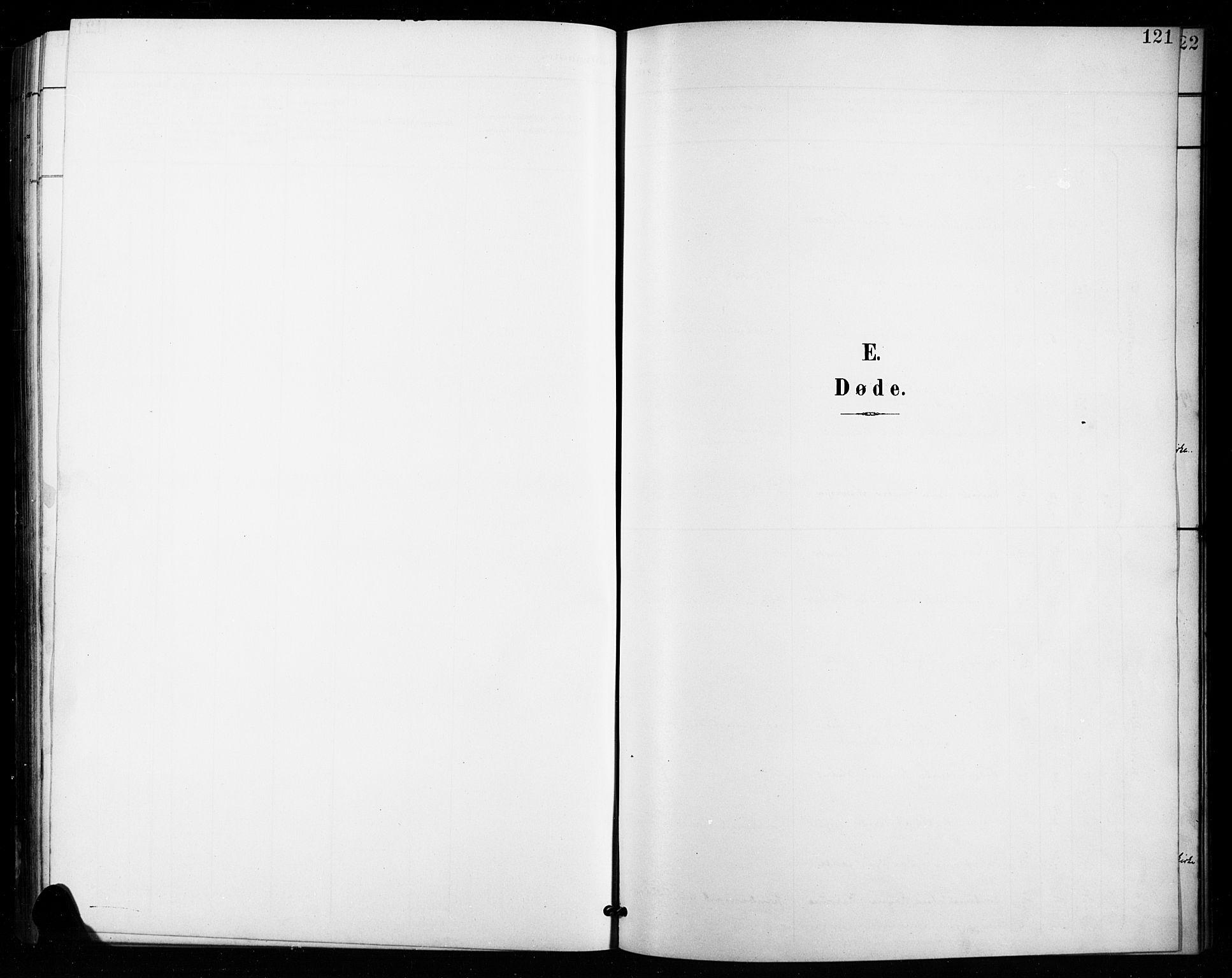 SAH, Vestre Toten prestekontor, Klokkerbok nr. 16, 1901-1915, s. 121