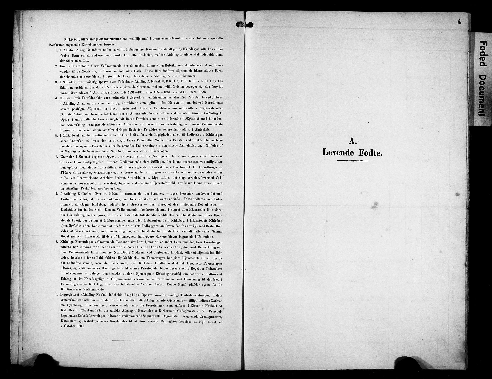 SAST, Avaldsnes sokneprestkontor, H/Ha/Hab/L0011: Klokkerbok nr. B 11, 1893-1929, s. 4