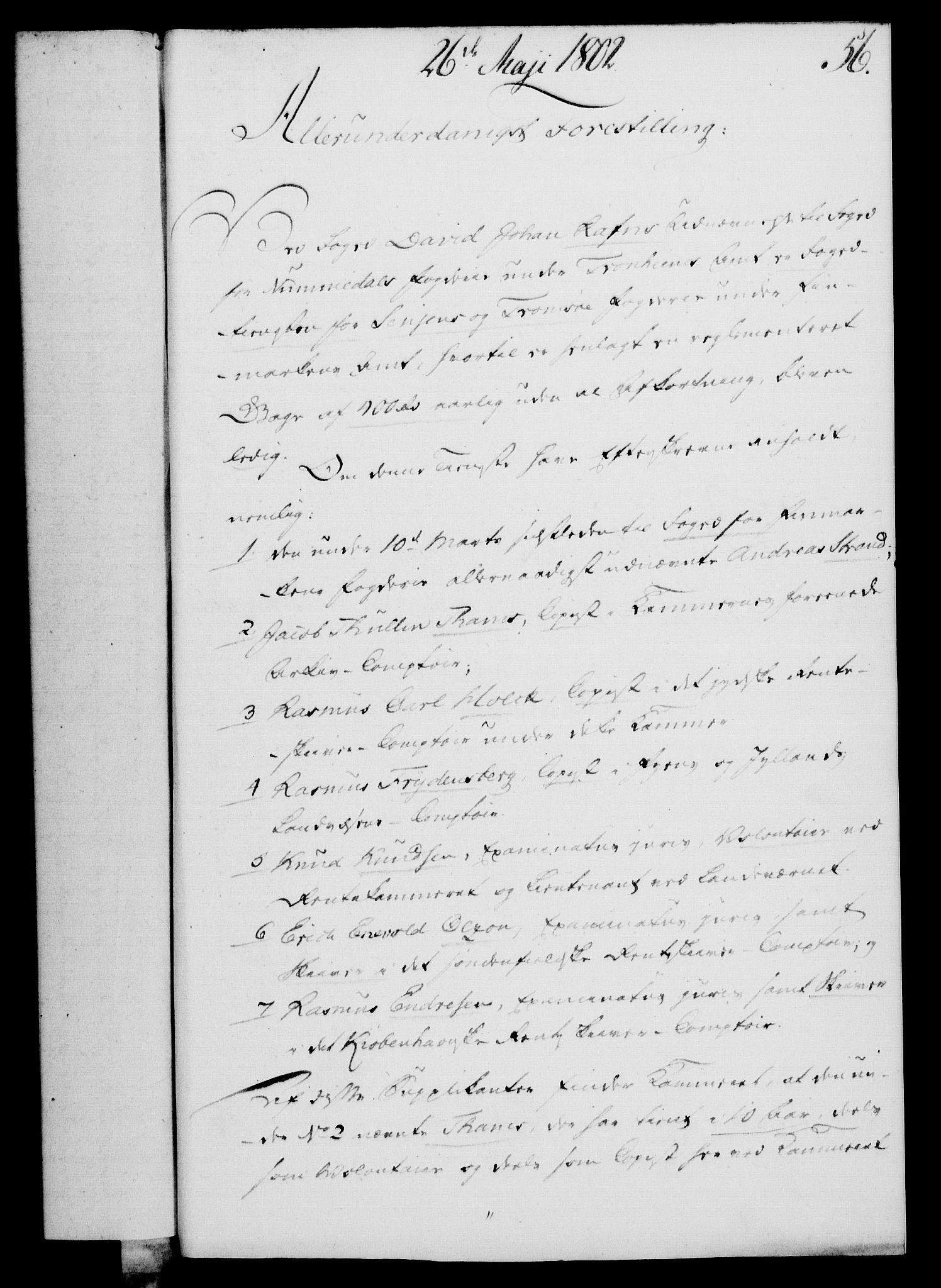RA, Rentekammeret, Kammerkanselliet, G/Gf/Gfa/L0084: Norsk relasjons- og resolusjonsprotokoll (merket RK 52.84), 1802, s. 375