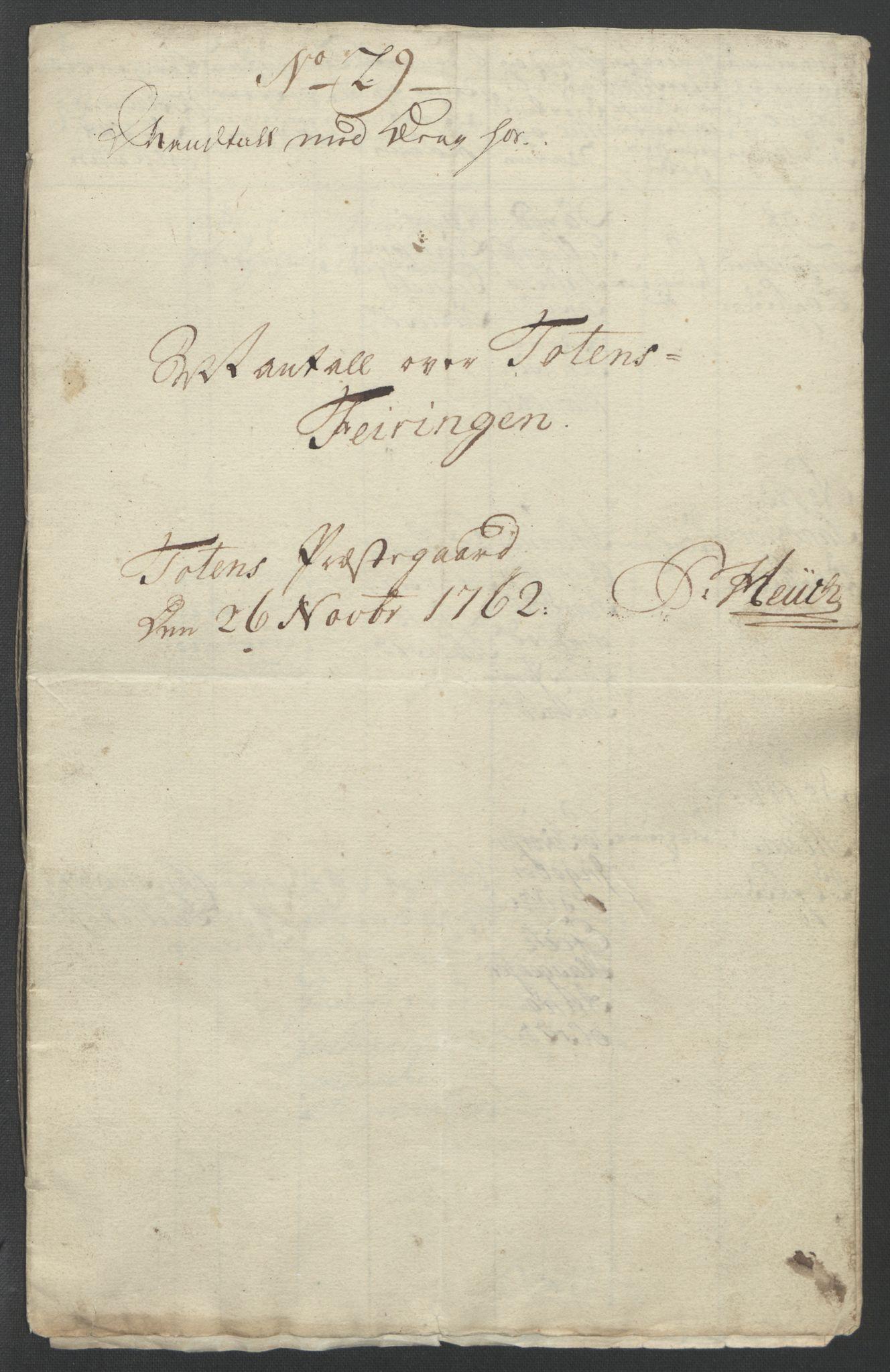 RA, Rentekammeret inntil 1814, Reviderte regnskaper, Fogderegnskap, R12/L0802: Ekstraskatten Øvre Romerike, 1762, s. 462