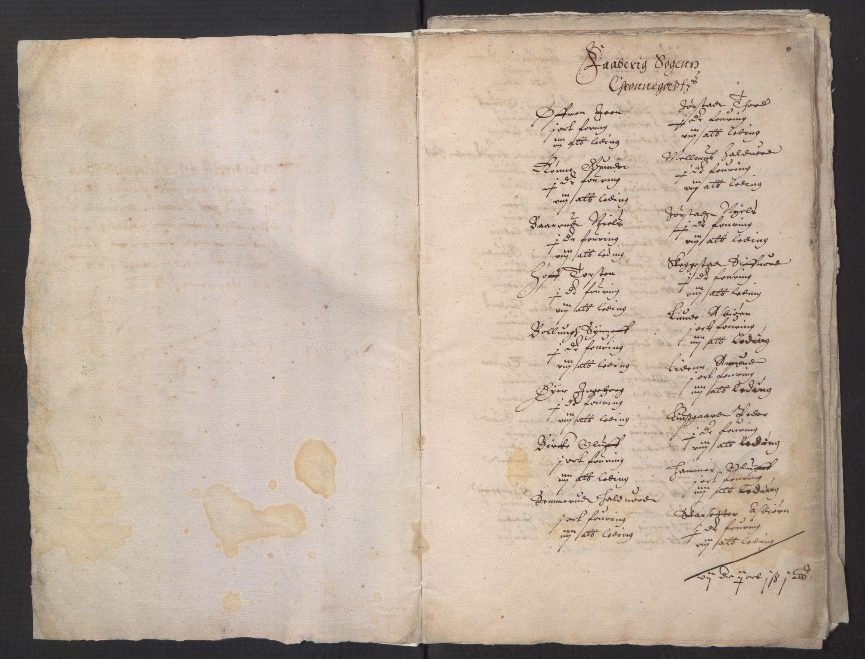 RA, Stattholderembetet 1572-1771, Ek/L0001: Jordebøker før 1624 og til utligning av garnisonsskatt 1624-1626:, 1624-1625, s. 3