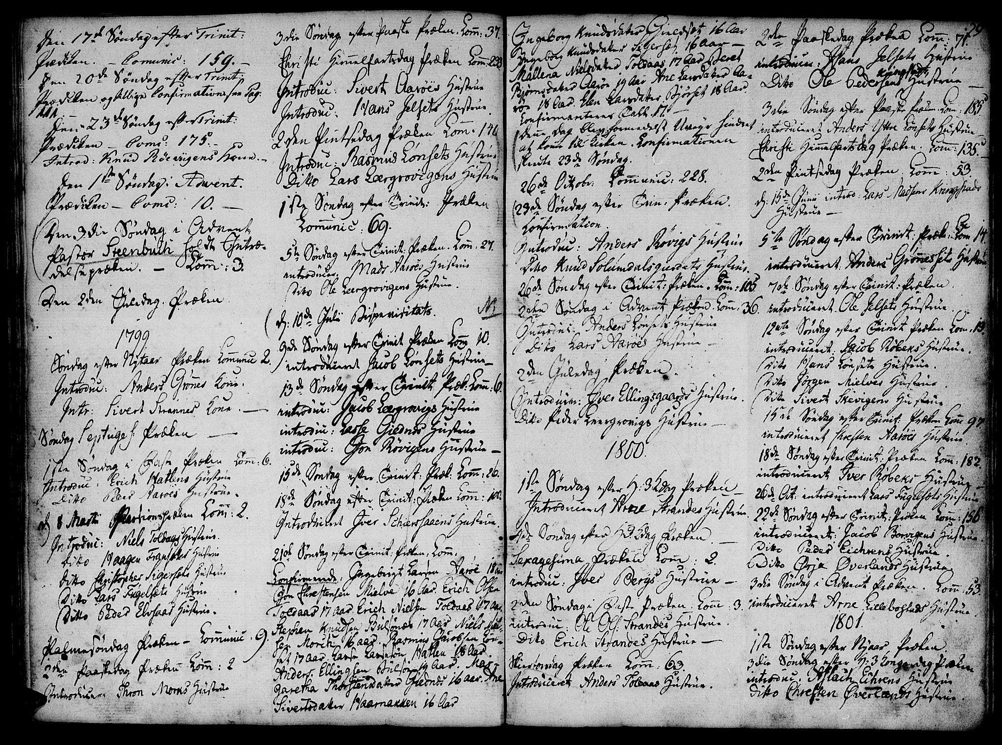 SAT, Ministerialprotokoller, klokkerbøker og fødselsregistre - Møre og Romsdal, 555/L0649: Ministerialbok nr. 555A02 /1, 1795-1821, s. 29