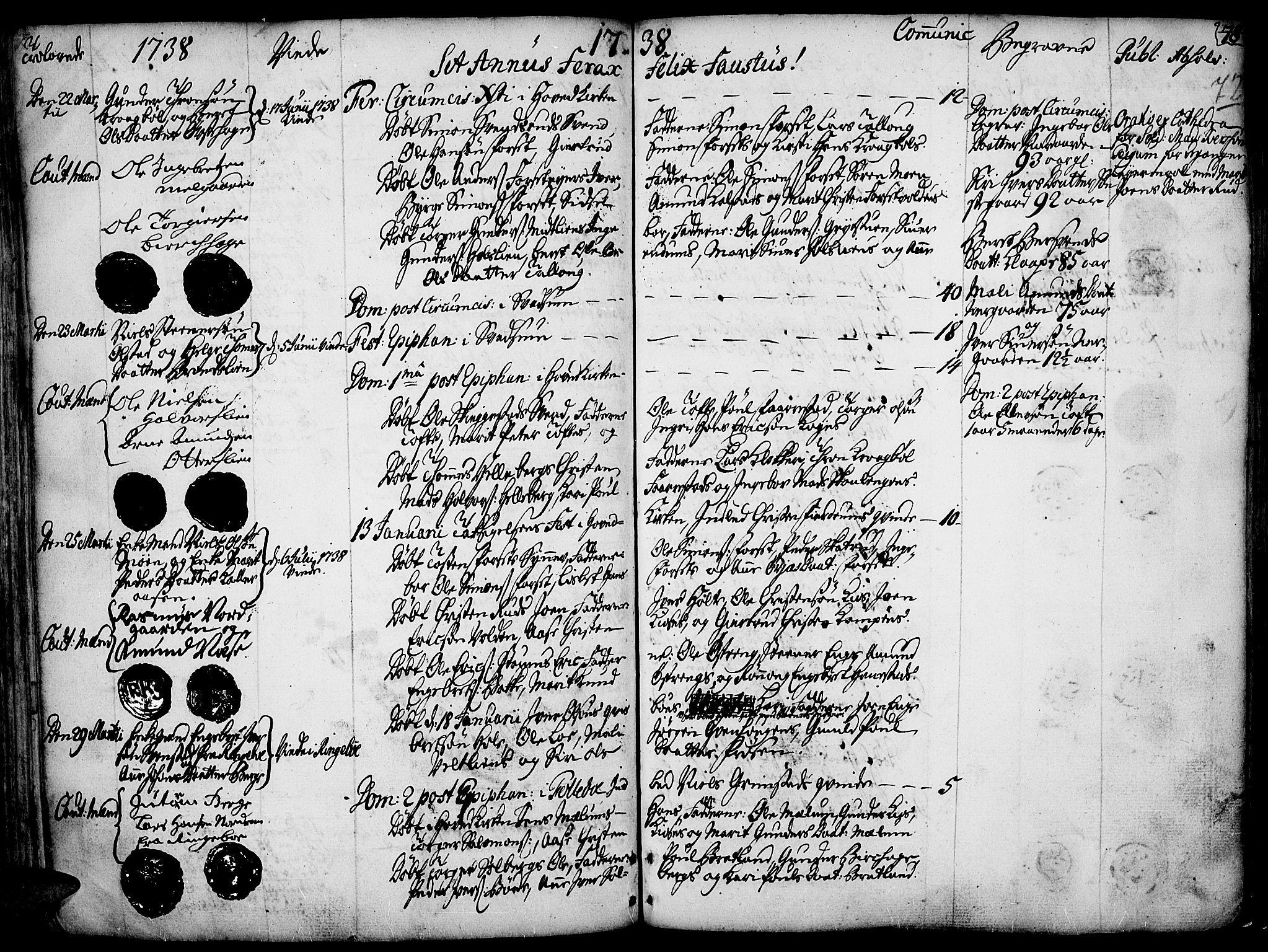 SAH, Gausdal prestekontor, Ministerialbok nr. 2, 1729-1757, s. 72