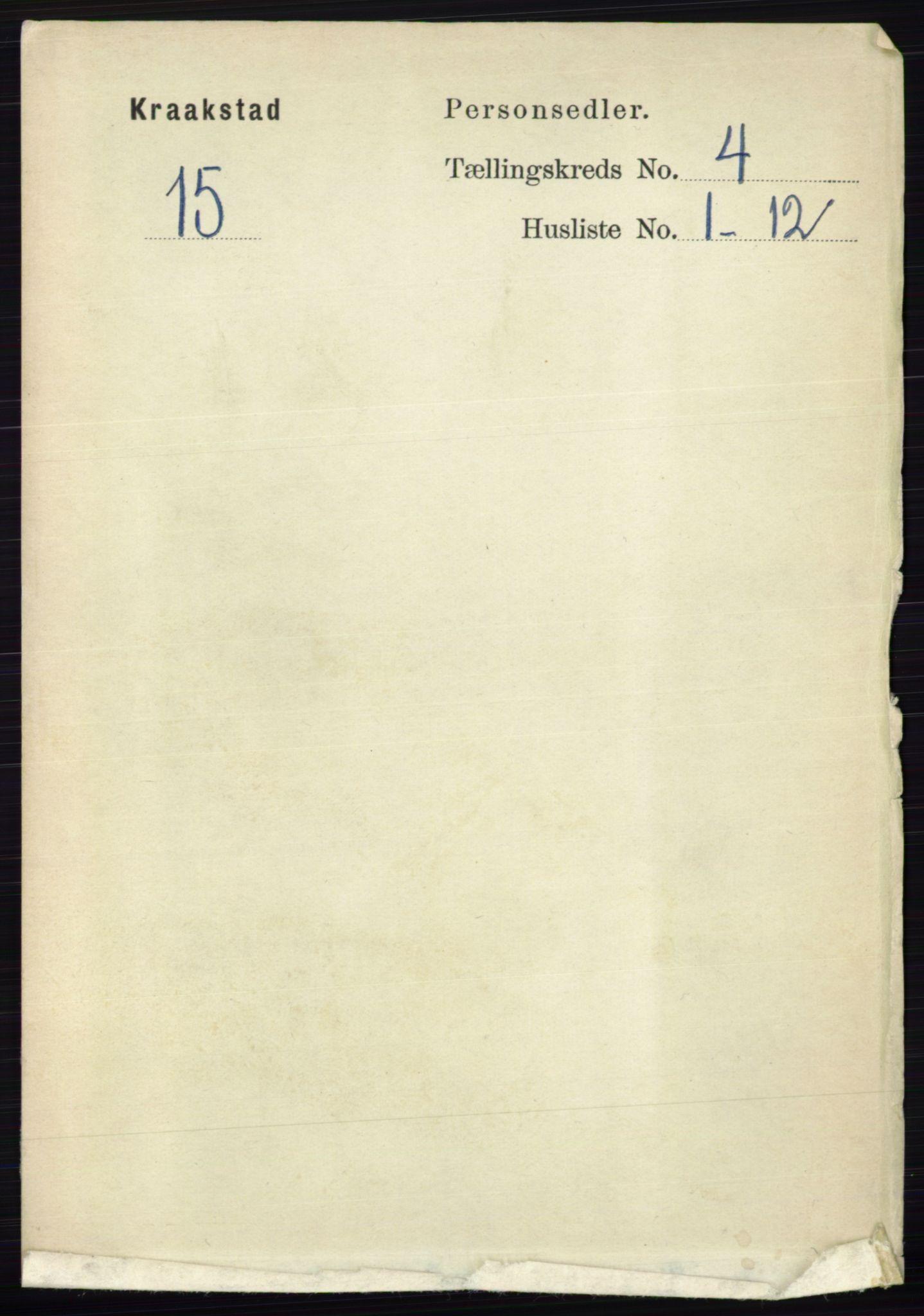 RA, Folketelling 1891 for 0212 Kråkstad herred, 1891, s. 1719