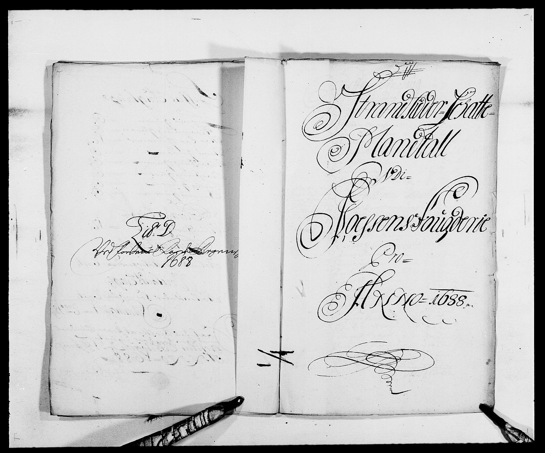 RA, Rentekammeret inntil 1814, Reviderte regnskaper, Fogderegnskap, R57/L3846: Fogderegnskap Fosen, 1688, s. 81