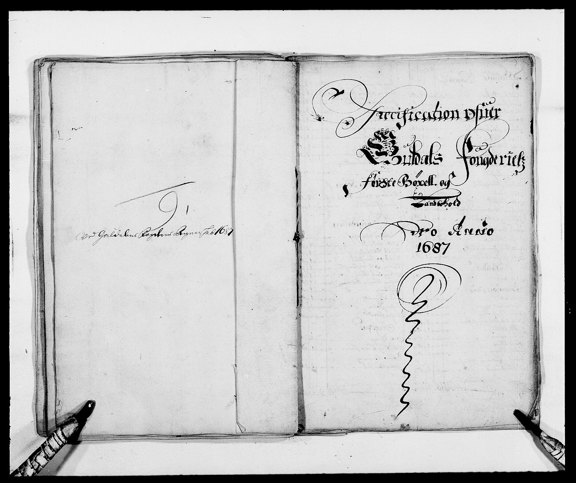 RA, Rentekammeret inntil 1814, Reviderte regnskaper, Fogderegnskap, R59/L3939: Fogderegnskap Gauldal, 1687-1688, s. 44