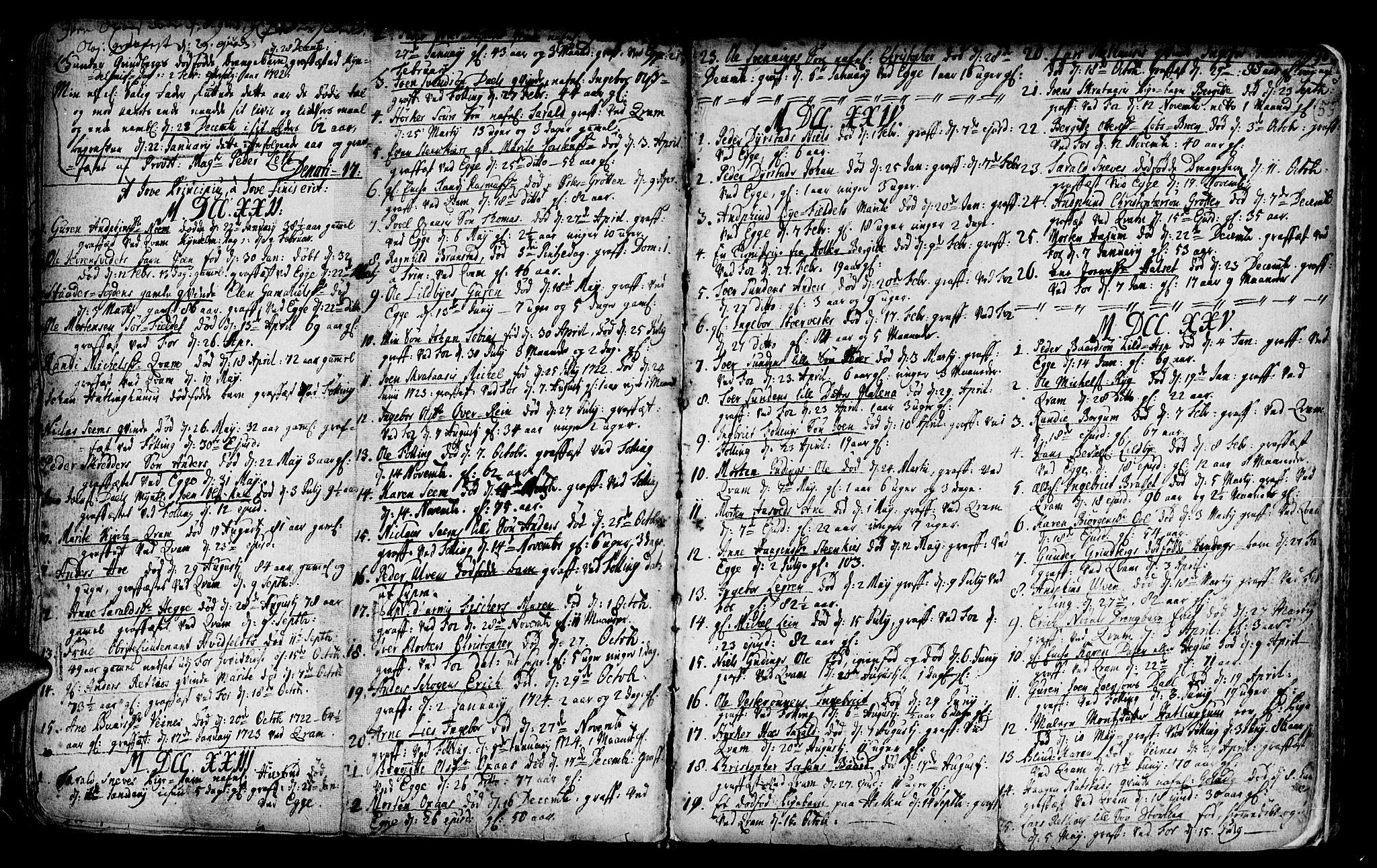 SAT, Ministerialprotokoller, klokkerbøker og fødselsregistre - Nord-Trøndelag, 746/L0439: Ministerialbok nr. 746A01, 1688-1759, s. 59