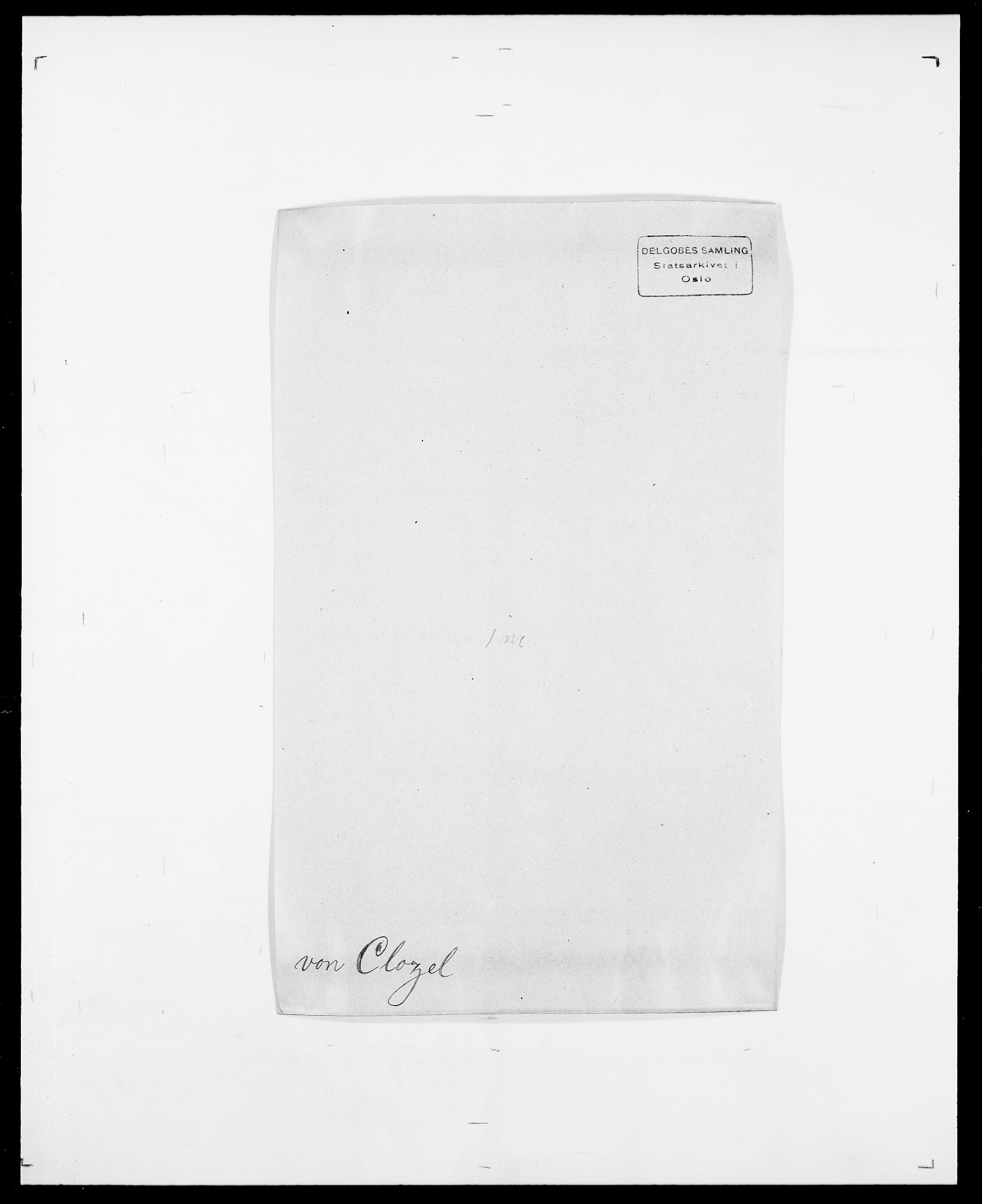 SAO, Delgobe, Charles Antoine - samling, D/Da/L0008: Capjon - Dagenbolt, s. 389