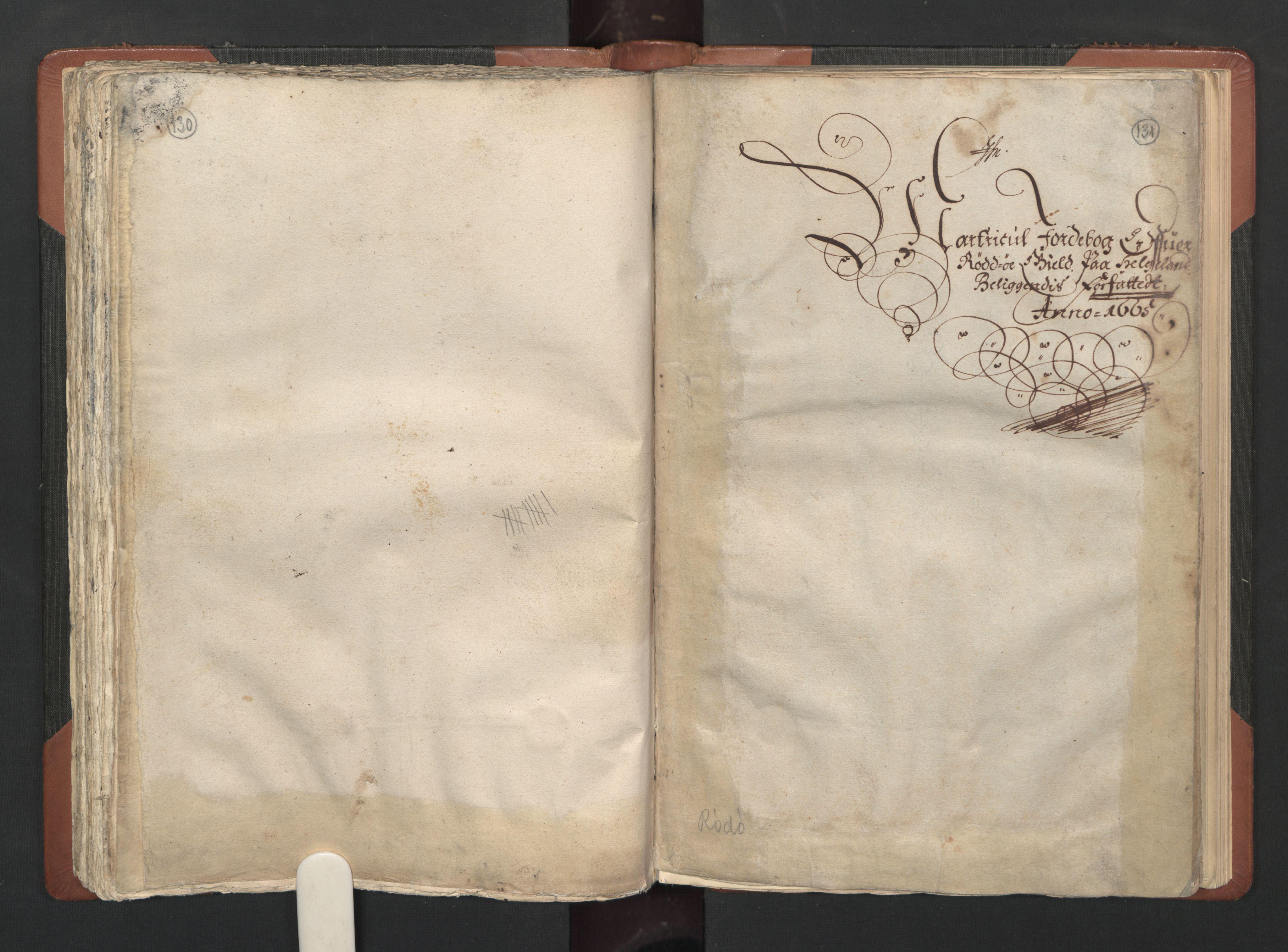RA, Fogdenes og sorenskrivernes manntall 1664-1666, nr. 20: Fogderier (len og skipreider) i nåværende Nordland fylke, Troms fylke og Finnmark fylke, 1665, s. 130-131