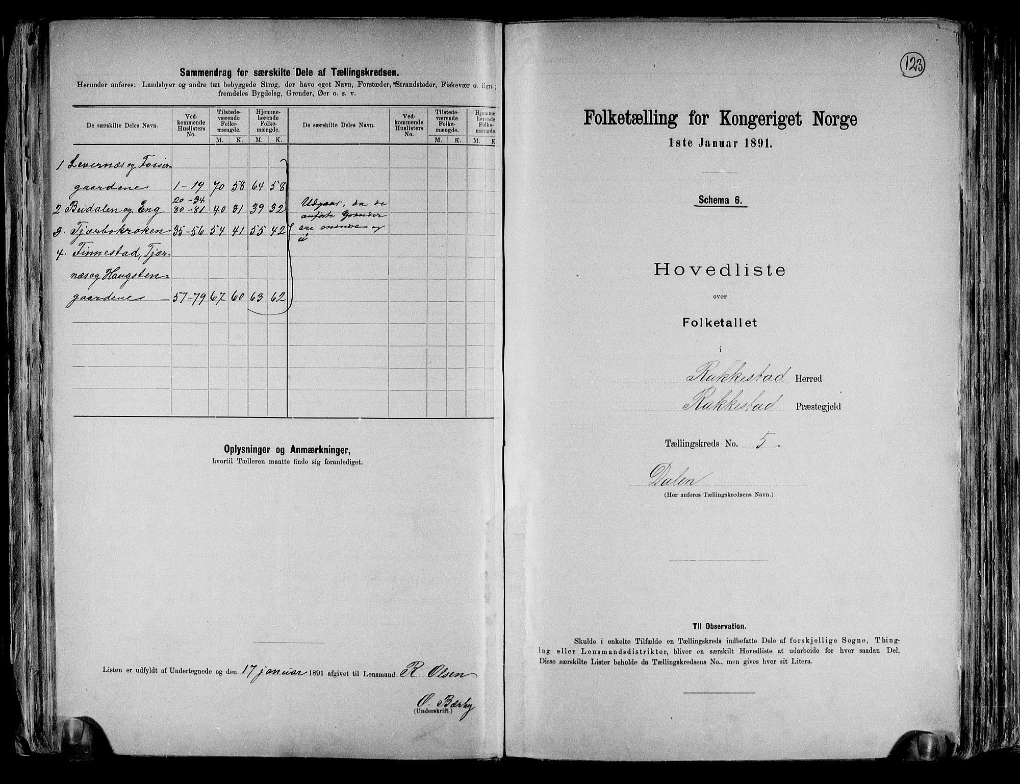 RA, Folketelling 1891 for 0128 Rakkestad herred, 1891, s. 14