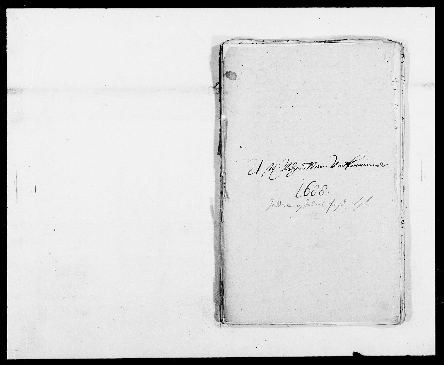 RA, Rentekammeret inntil 1814, Reviderte regnskaper, Fogderegnskap, R46/L2726: Fogderegnskap Jæren og Dalane, 1686-1689, s. 286
