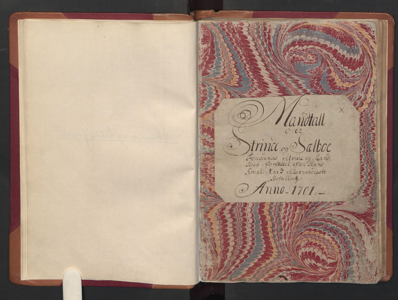 RA, Manntallet 1701, nr. 14: Strinda og Selbu fogderi, 1701, s. 1