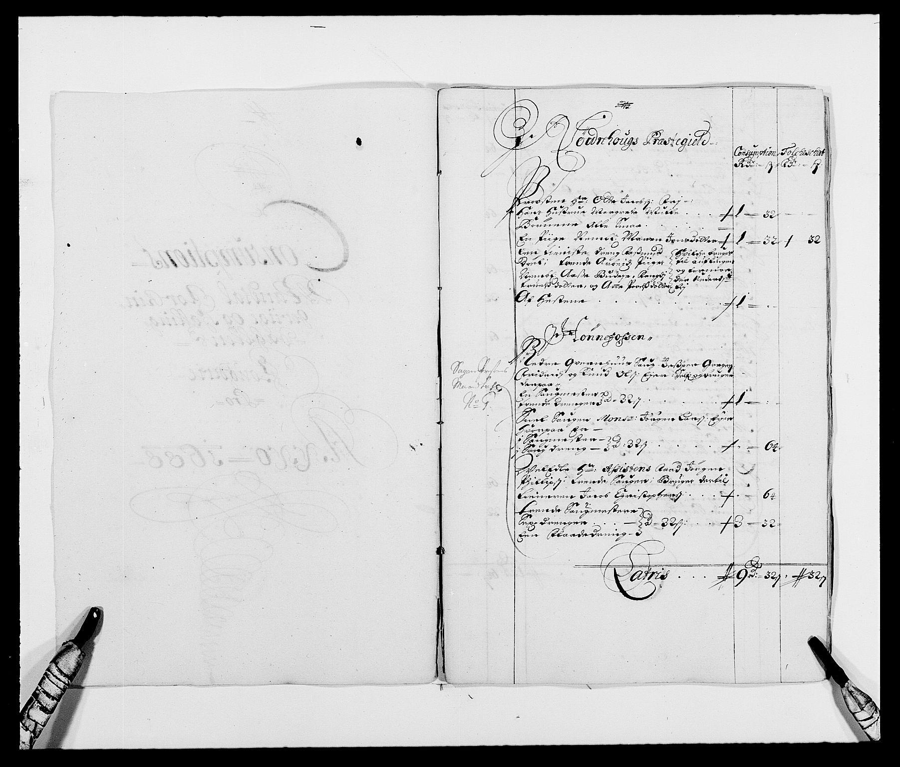 RA, Rentekammeret inntil 1814, Reviderte regnskaper, Fogderegnskap, R21/L1447: Fogderegnskap Ringerike og Hallingdal, 1687-1689, s. 187