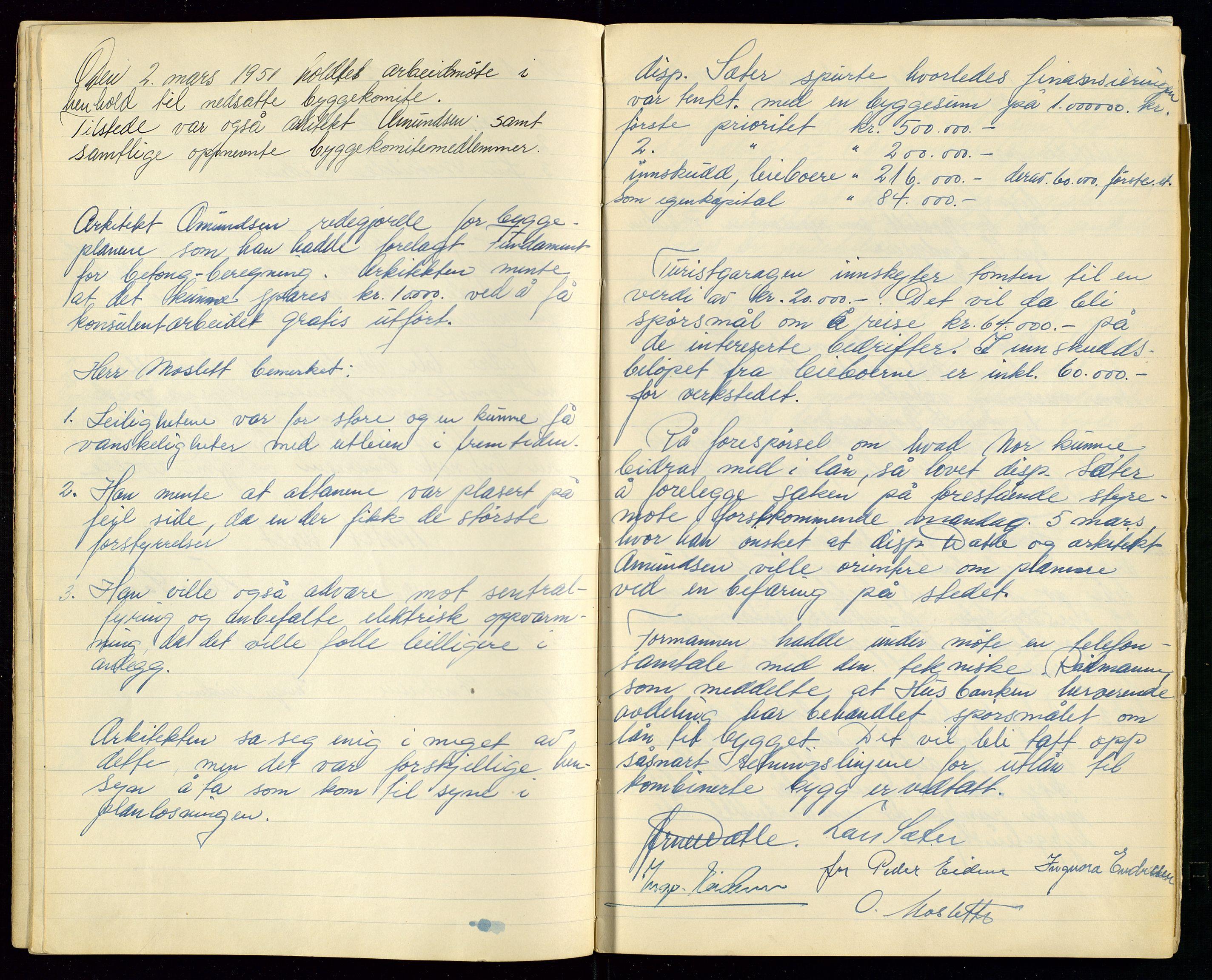 SAST, PA 1515 - Turistgarasjen A/S, A/L0001: Forhandlingsprotokoll, 1937-1958, s. 17