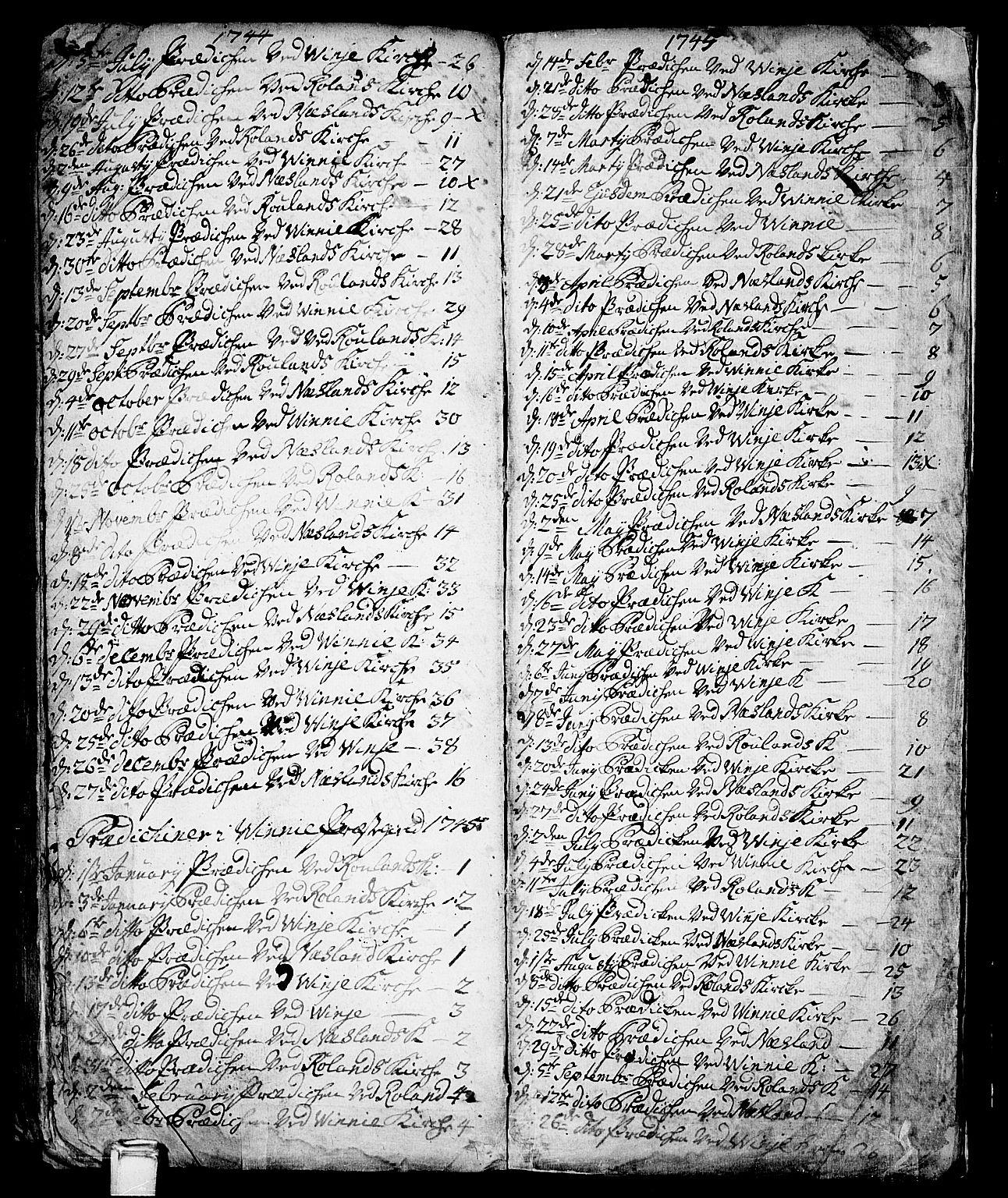 SAKO, Vinje kirkebøker, F/Fa/L0001: Ministerialbok nr. I 1, 1717-1766, s. 259