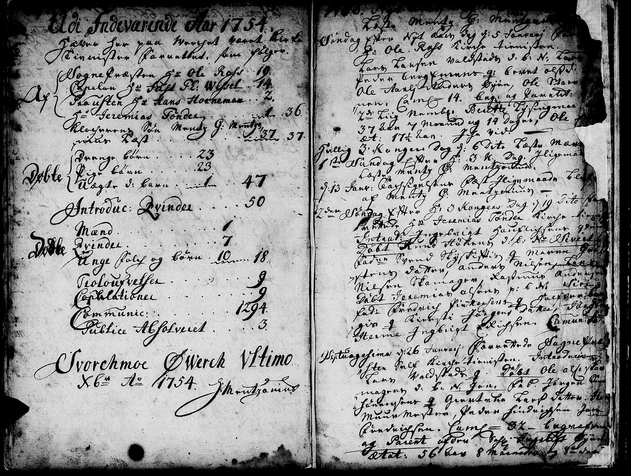 SAT, Ministerialprotokoller, klokkerbøker og fødselsregistre - Sør-Trøndelag, 671/L0839: Ministerialbok nr. 671A01, 1730-1755, s. 455-456