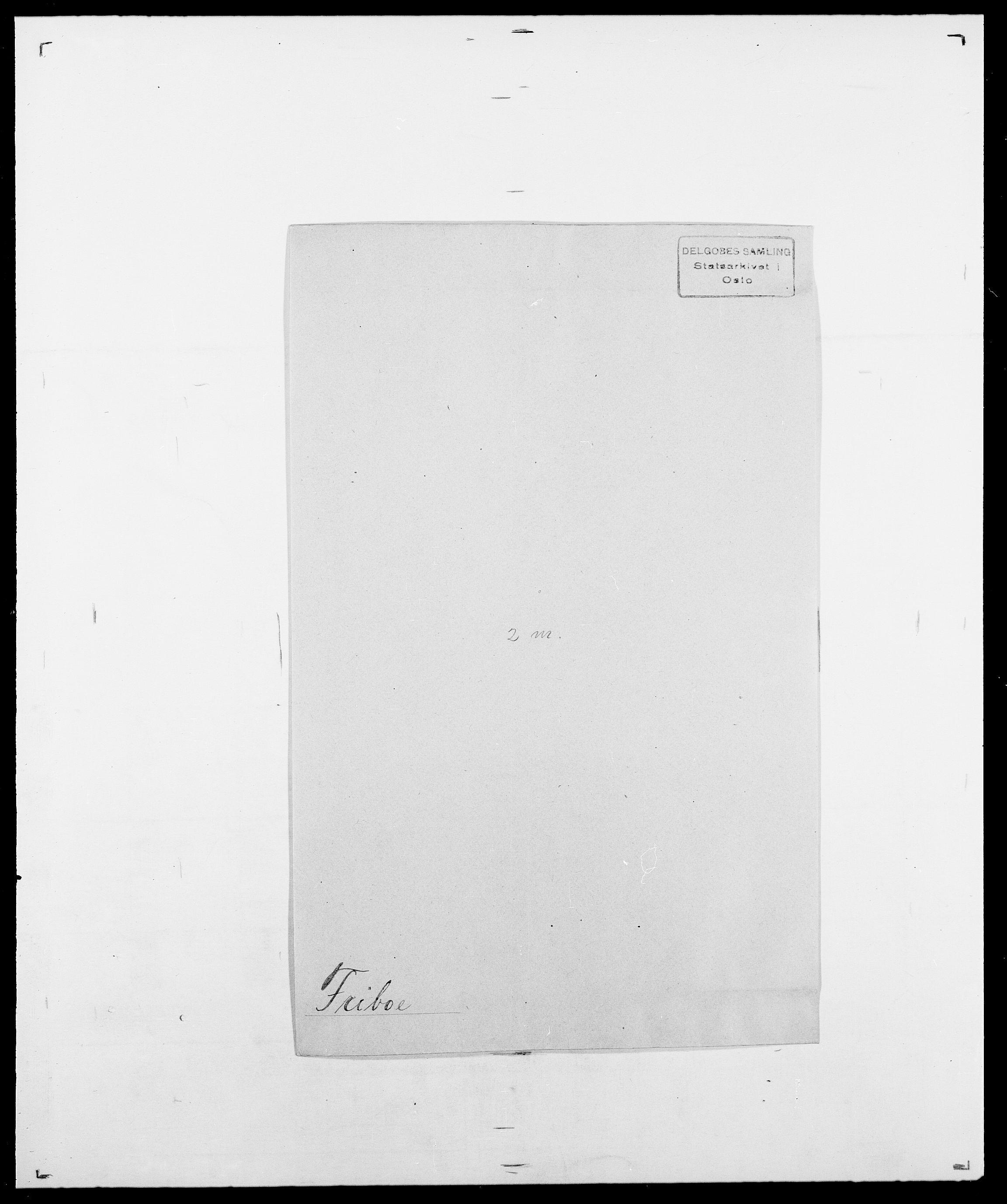 SAO, Delgobe, Charles Antoine - samling, D/Da/L0012: Flor, Floer, Flohr - Fritzner, s. 756